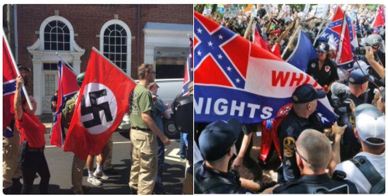 Összecsapások Virginiában a szélsőjobboldali tüntetésen, a kormányzó szükségállapotot hirdetett