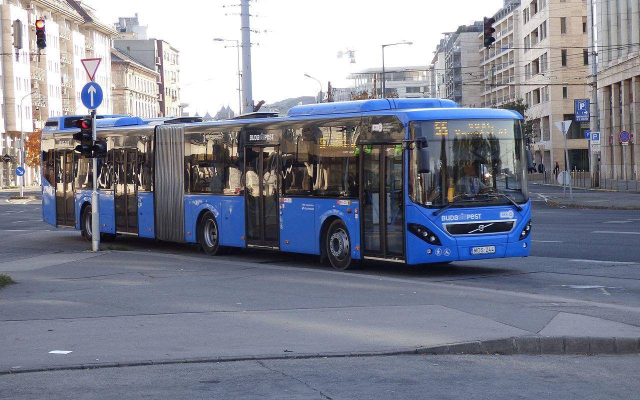 Terhes anyukát szállított le a buszsofőr az 55-ös járatról, mert ülve várta a buszt