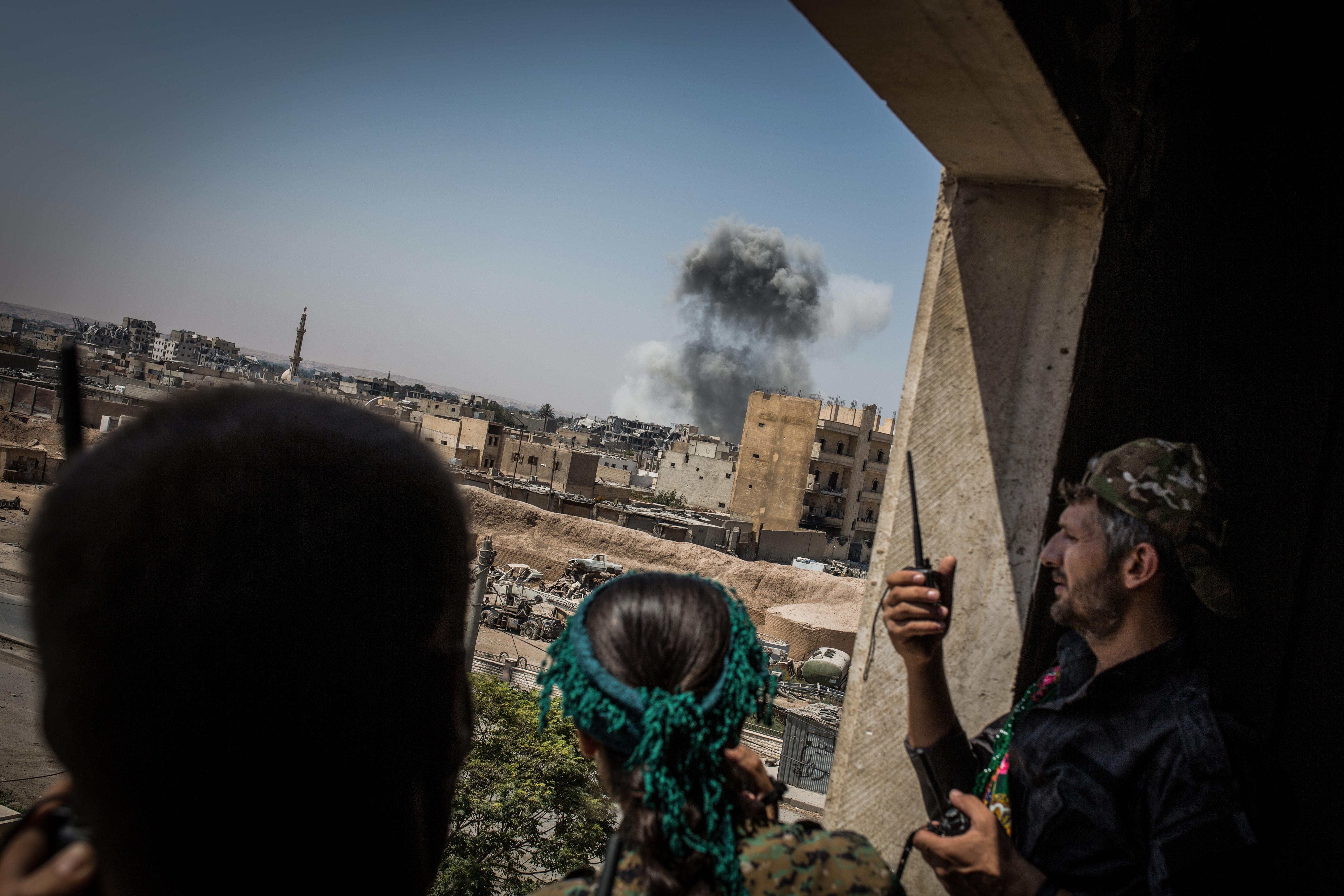 Trumpéknak nincs terve arra, hogy mit tegyenek Szíriában Rakka visszafoglalása után