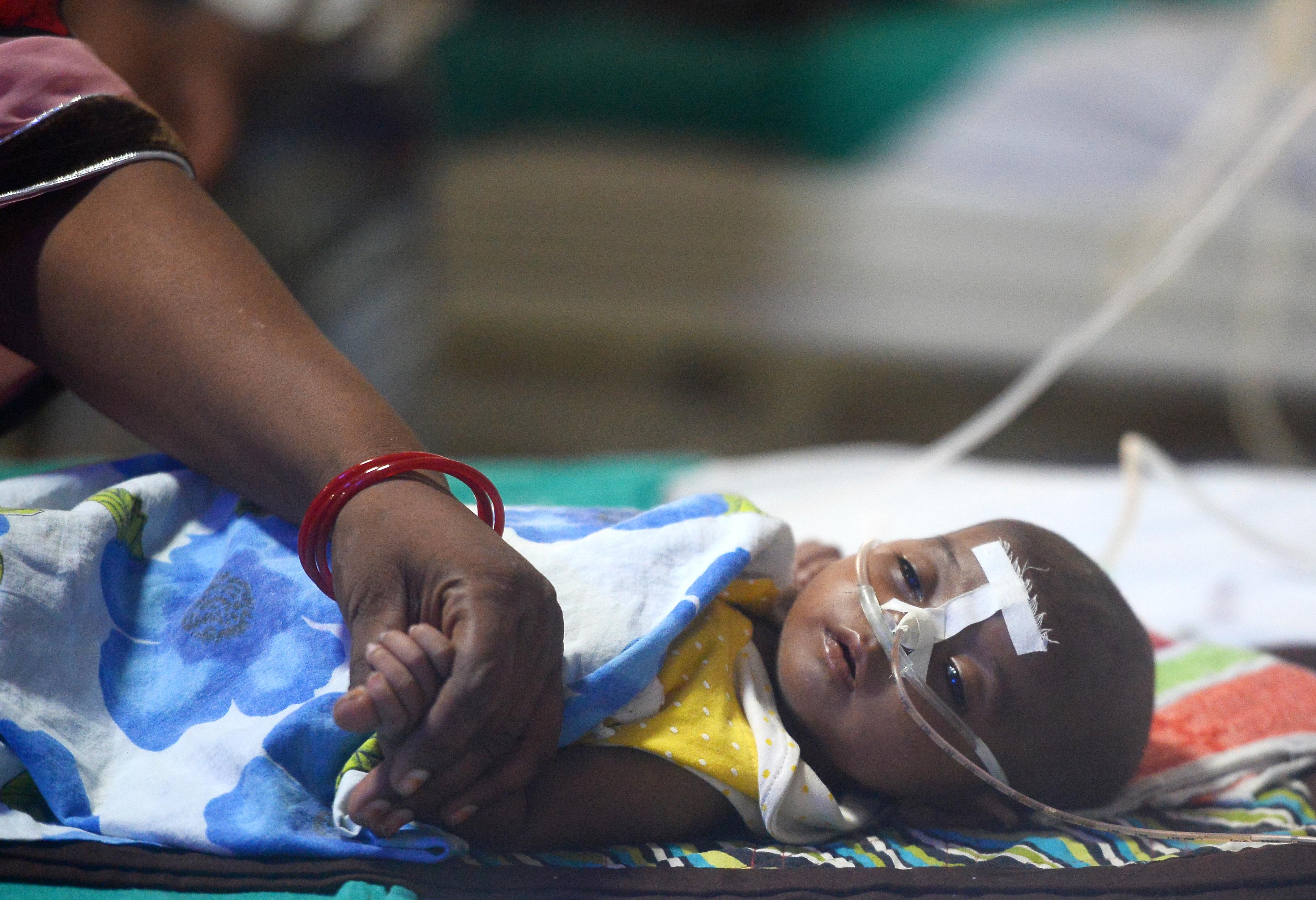 100 gyerek halt meg egy indiai kórházban