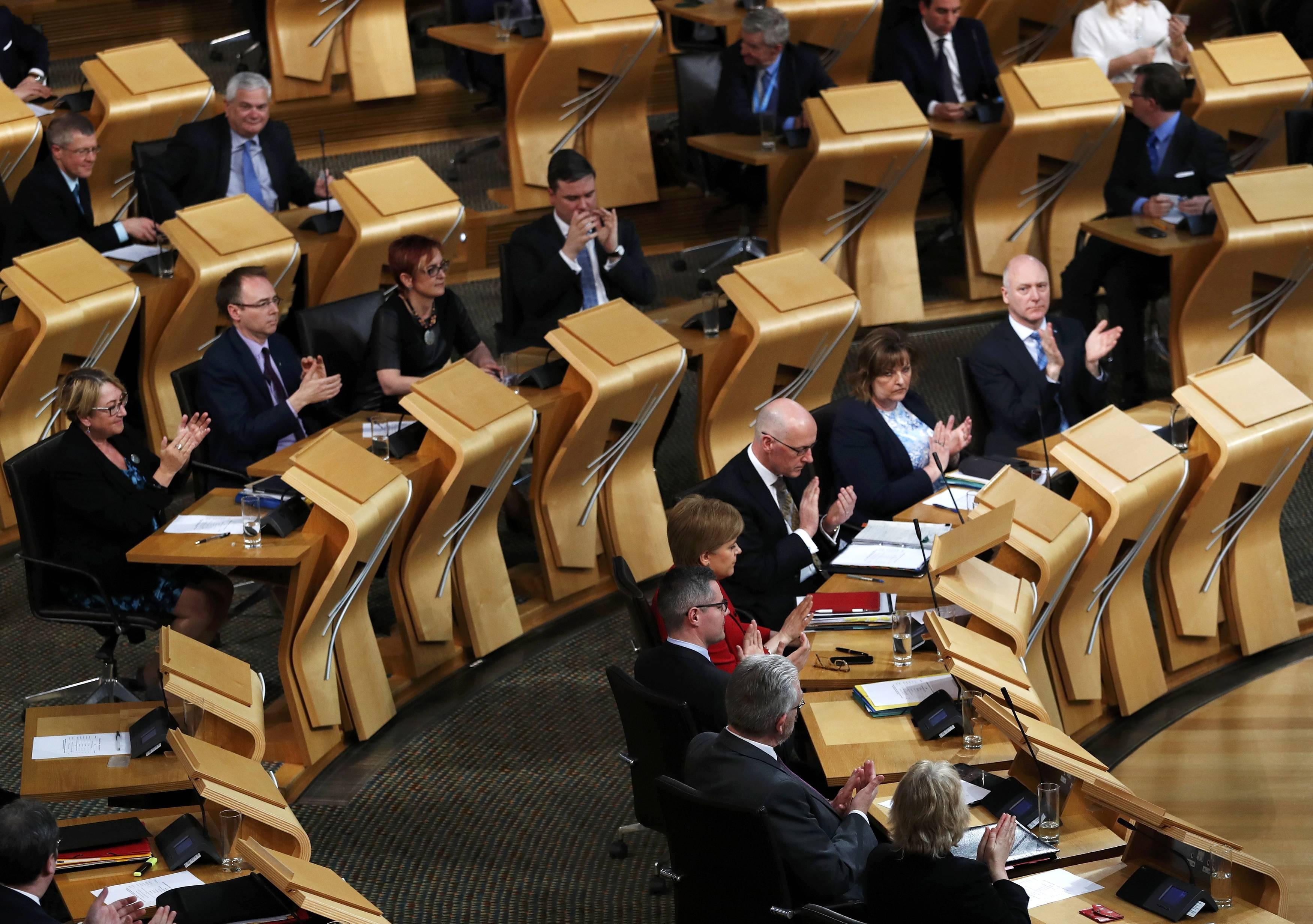 A skót parlamentet is kibertámadás érte
