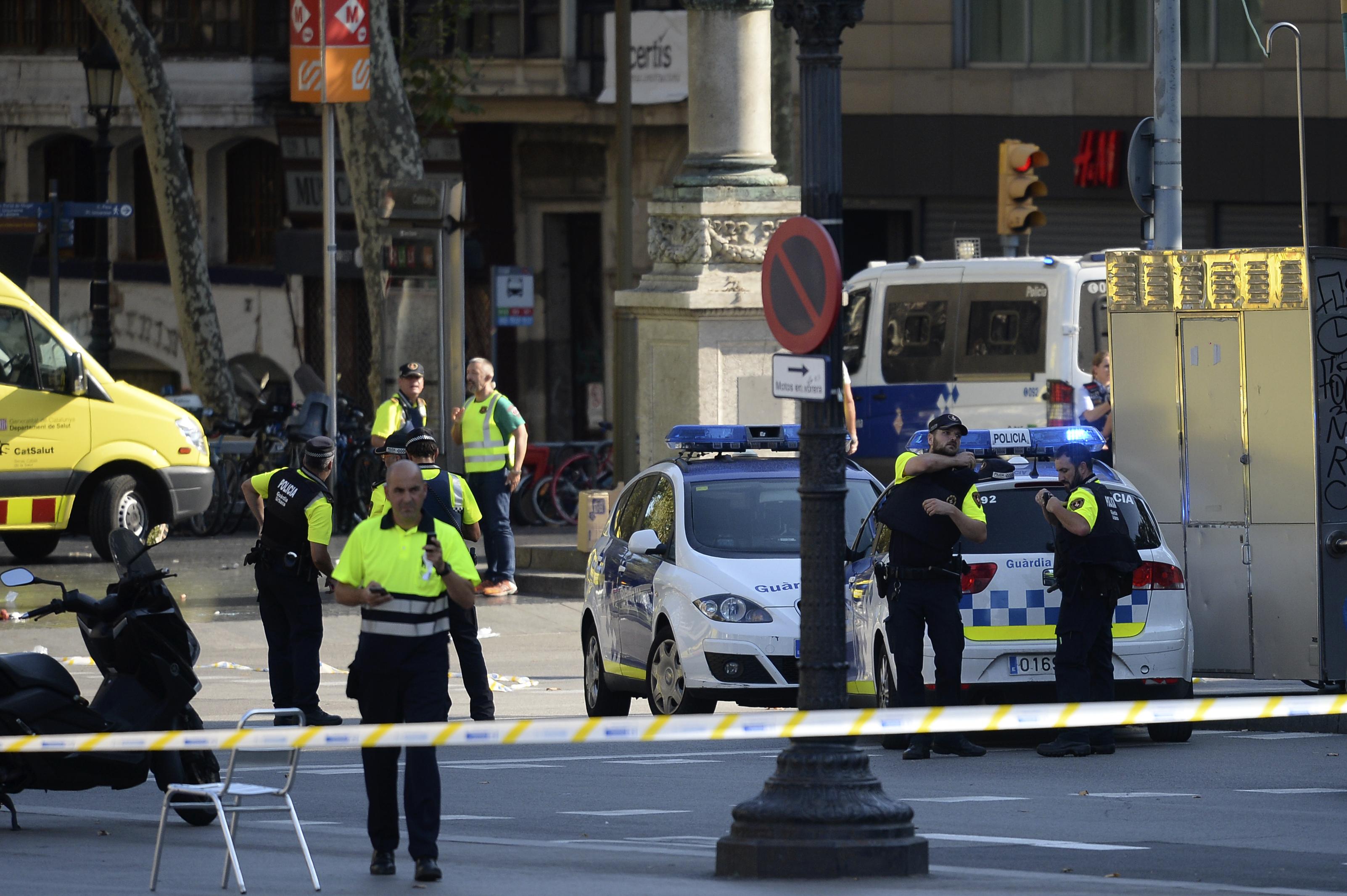 Egy könnyebb magyar sérültje van a barcelonai terrortámadásnak