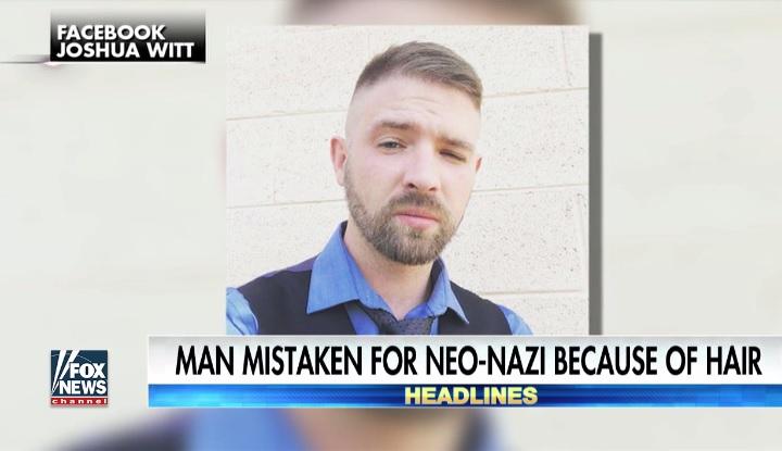 Joshua Wittet azért próbálta megkéselni egy idióta antifasiszta, mert neonácinak nézte a haja miatt
