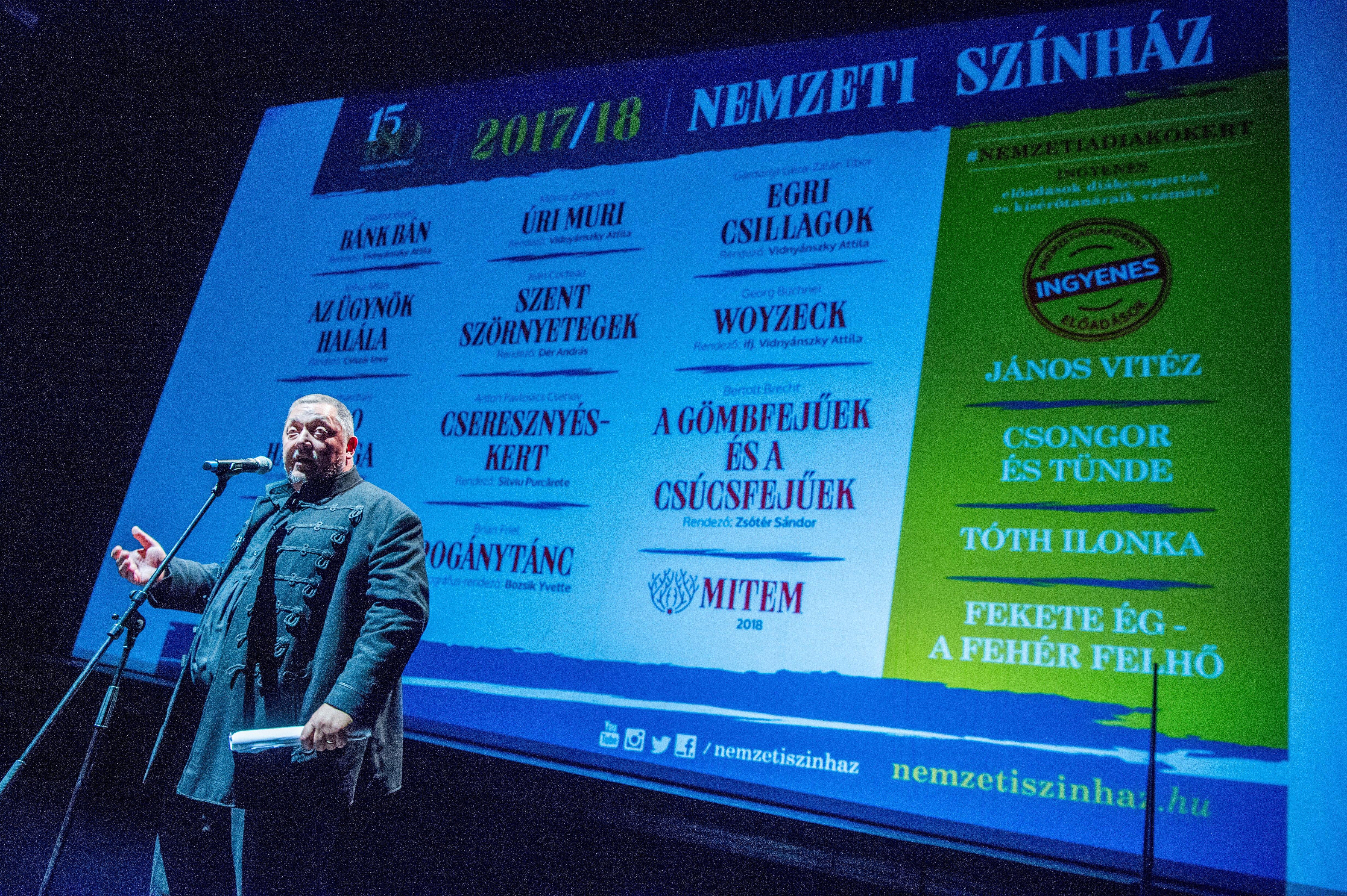 A Vidnyánszky-féle Magyar Teátrumi Társaság szerint még jól is járhat a magyar kultúra az új színháztörvénnyel
