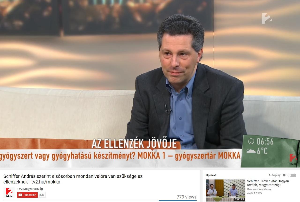 Schiffer András kilépett az LMP-ből, mert az együttes Szabó Szabolcs beült a frakciójukba