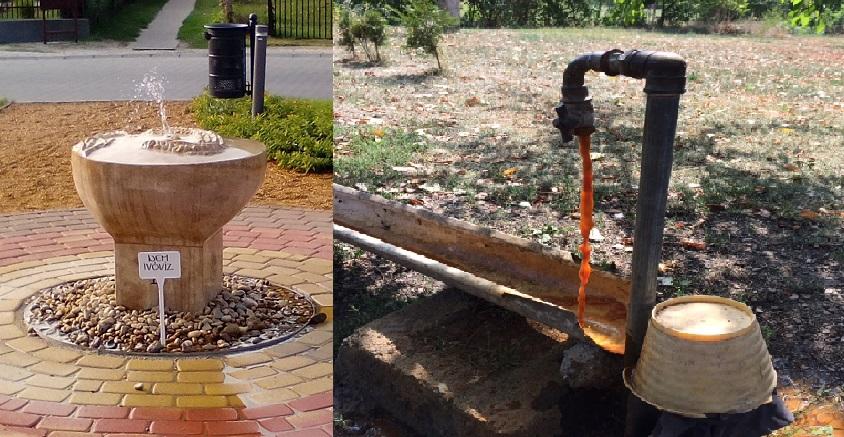 Honfoglaló minigejzírt avatott az önkormányzat, miközben a szegényebb családok házaiba idén már nem tudják visszakötni az ivóvizet