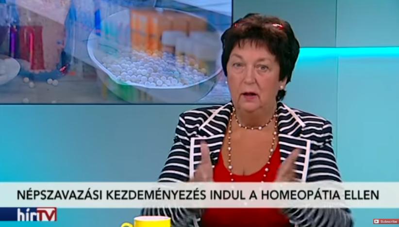 Jót ordibált egymással az épeszűek és a homeopaták képviselője a Hír TV-ben