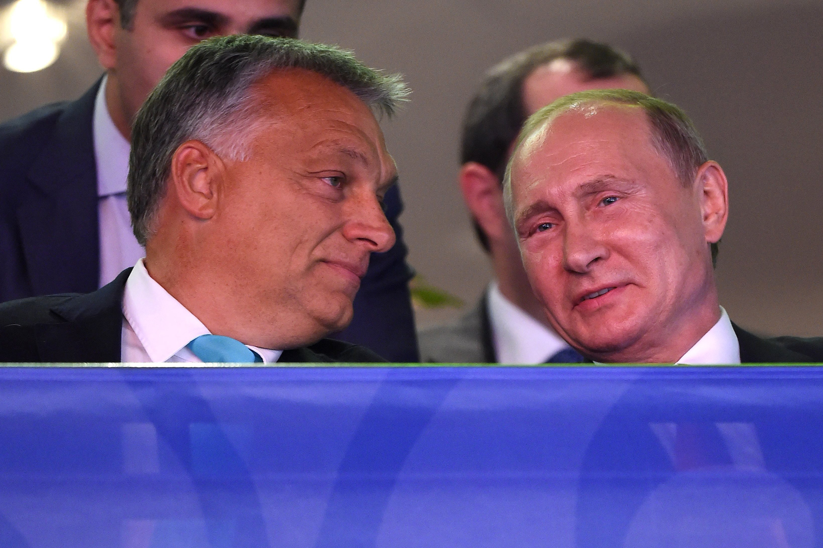 Putyin judoleckét ígért Orbánnak