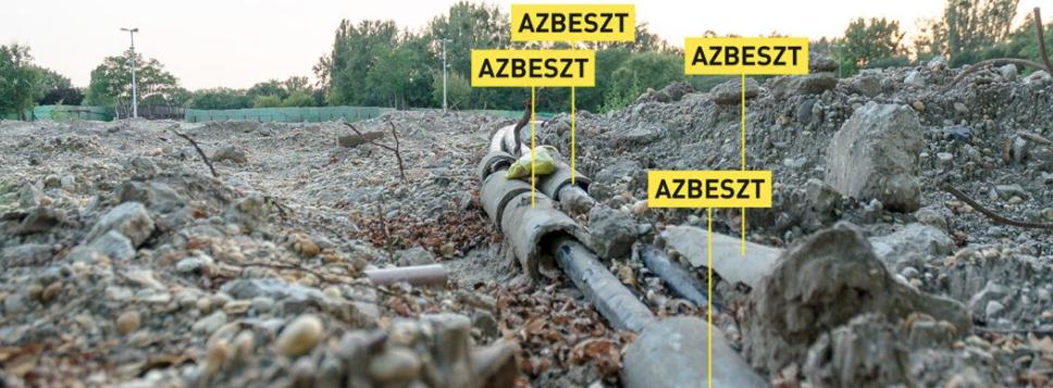 A létező legveszélyesebb azbesztet találták a Városligetben