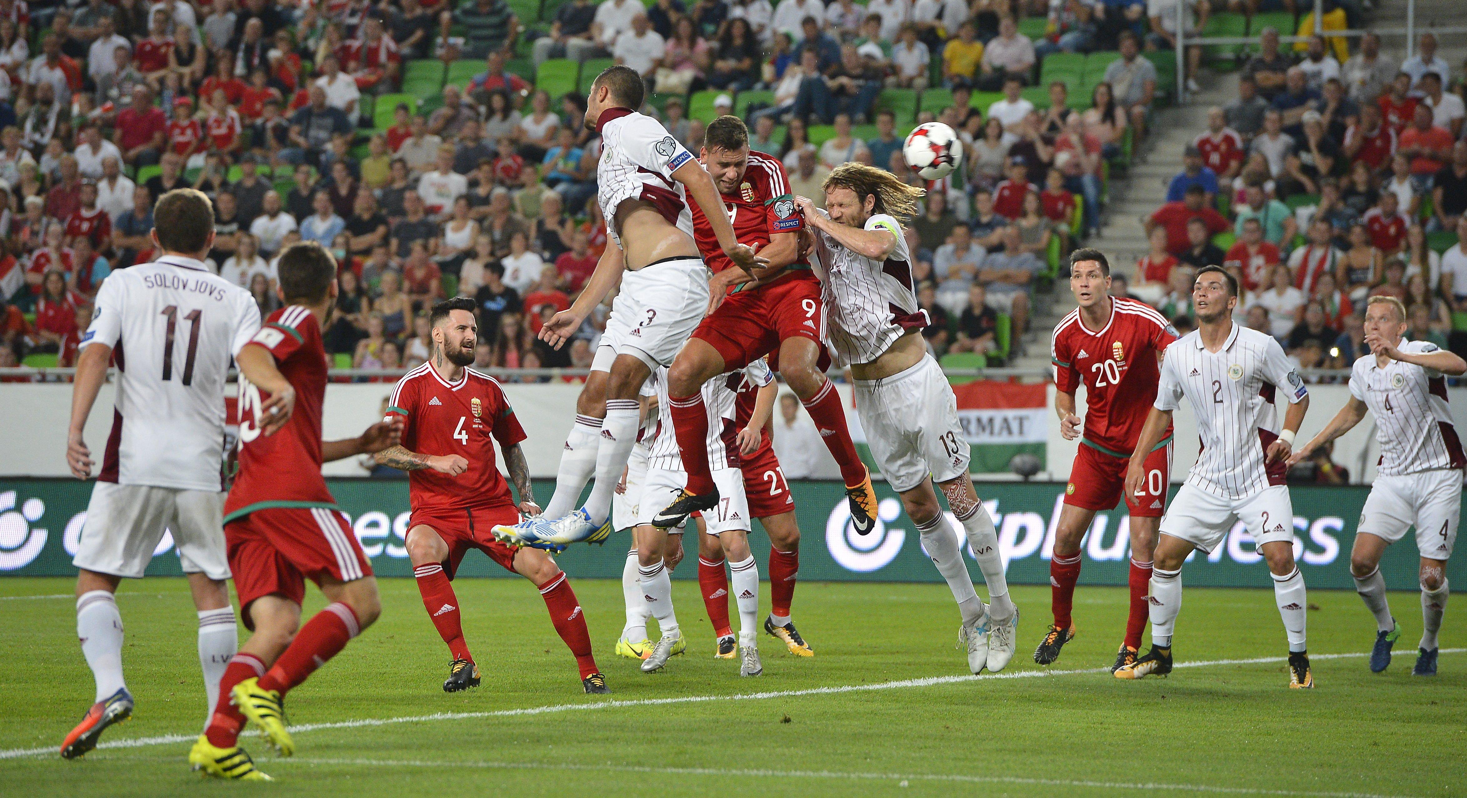 Magyarország-Lettország 3-1