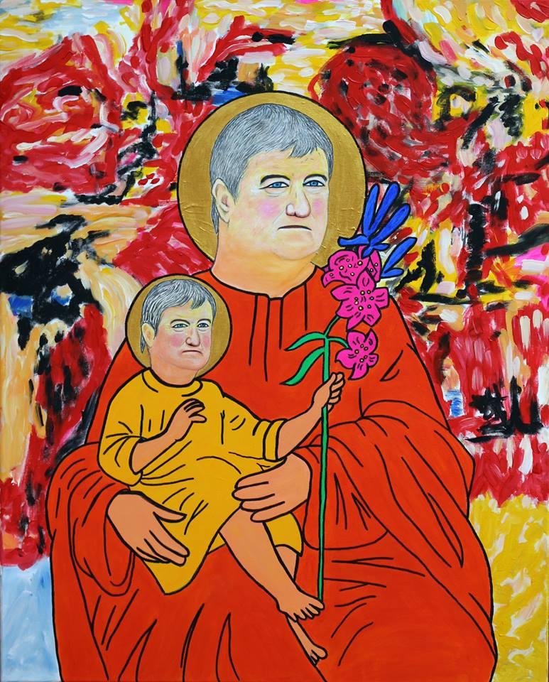 Ezúttal a kisded Tállai Andrásról festett szuper képet Dr Máriás