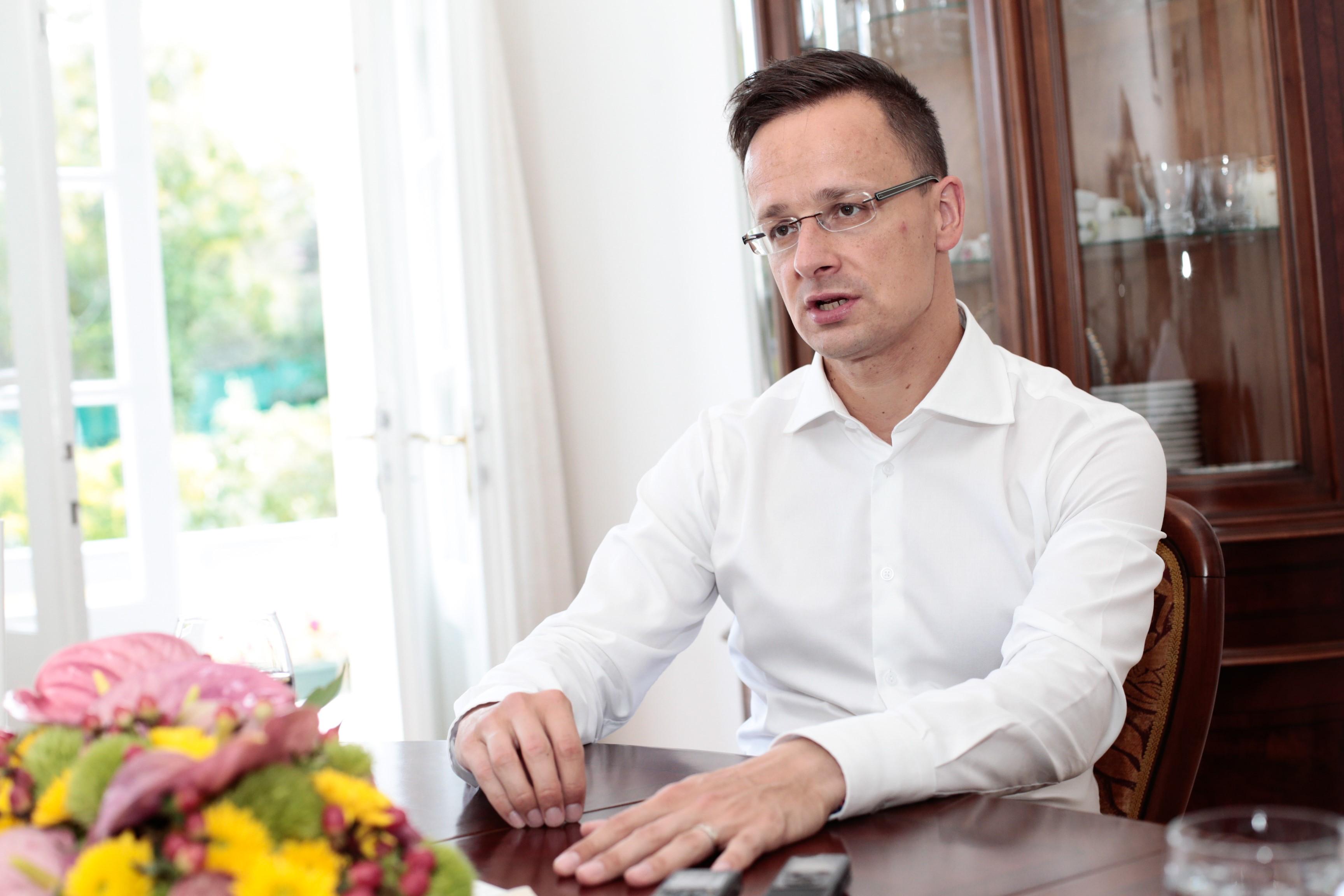 Szijjártó: Ukrajnának ez fájni fog
