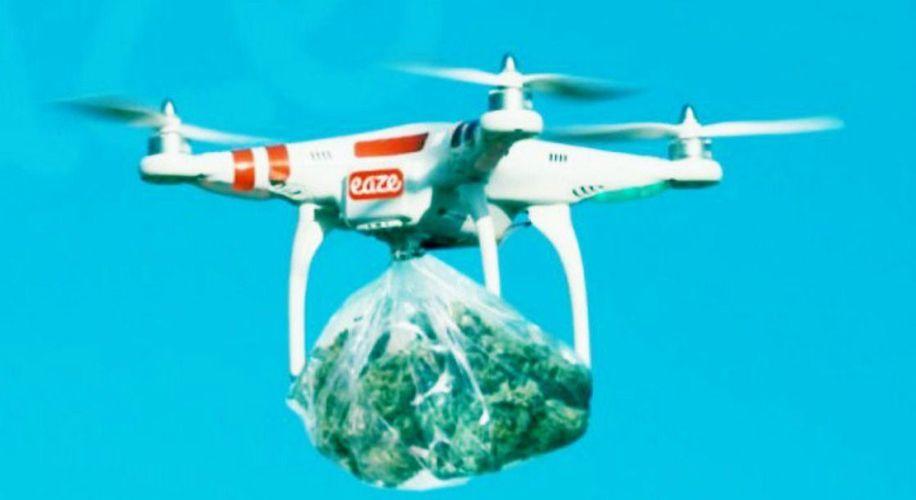 Tilos lesz drónnal vagy robottal házhoz szállítani a füvet Kaliforniában