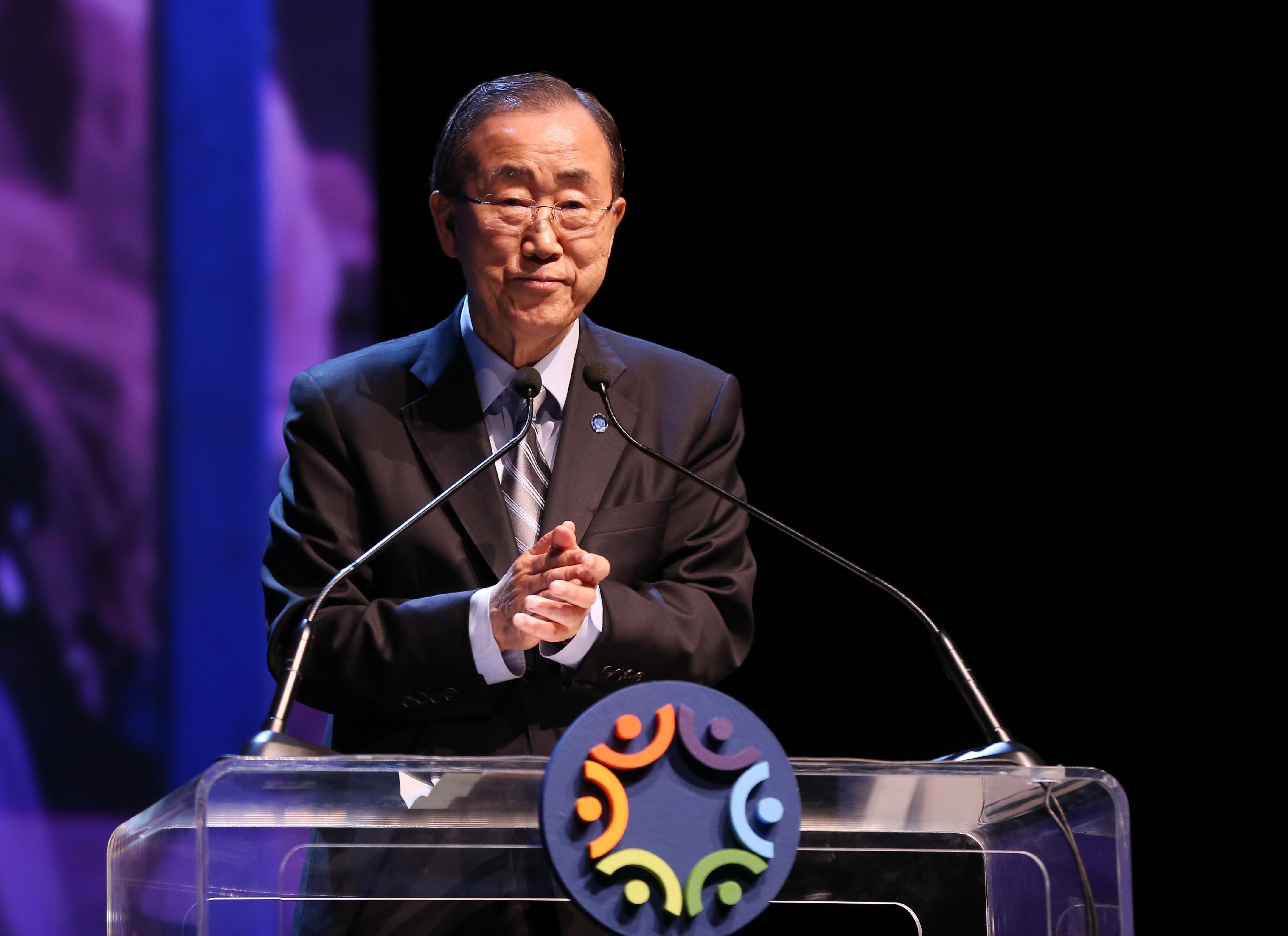 A Nemzetközi Olimpiai Bizottságban dolgozik tovább Ban Ki Mun