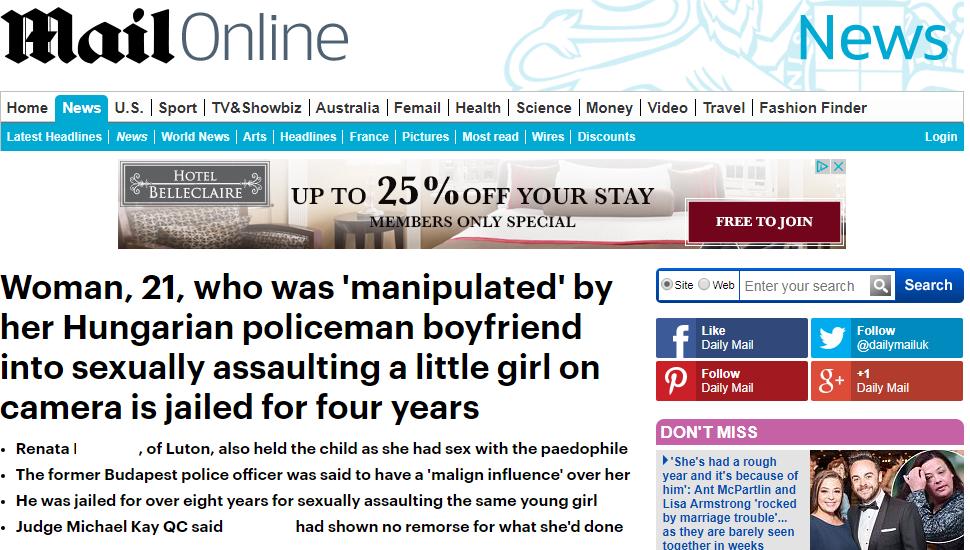 Szexuálisan bántalmazott egy gyereket egy Angliában élő magyar férfi, aki korábban Budapesten volt rendőrtiszt
