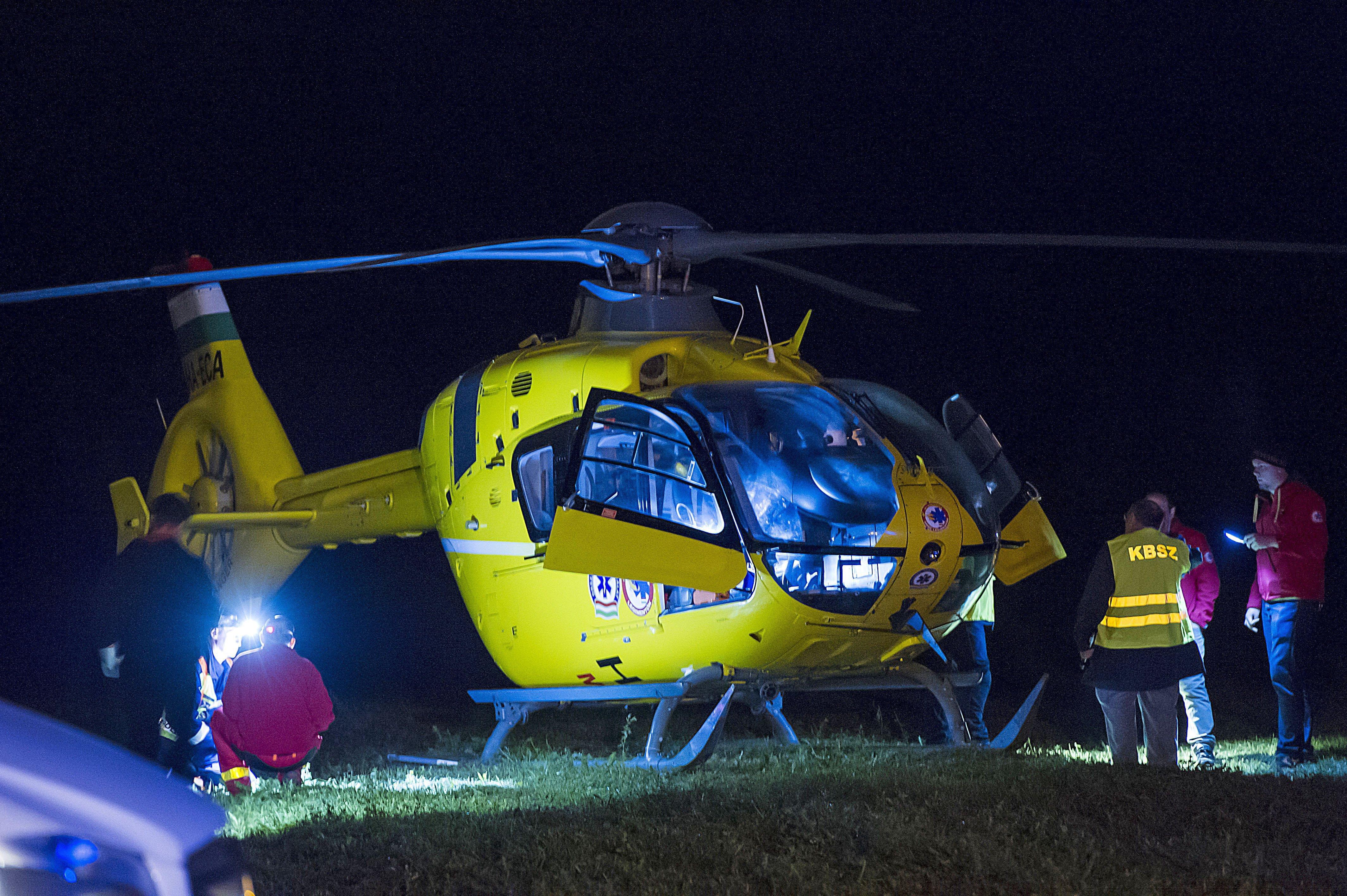 A nap peches magyarja az a nő, akire rázuhant a mentőhelikopter által elszakított nagyfeszültségű kábel