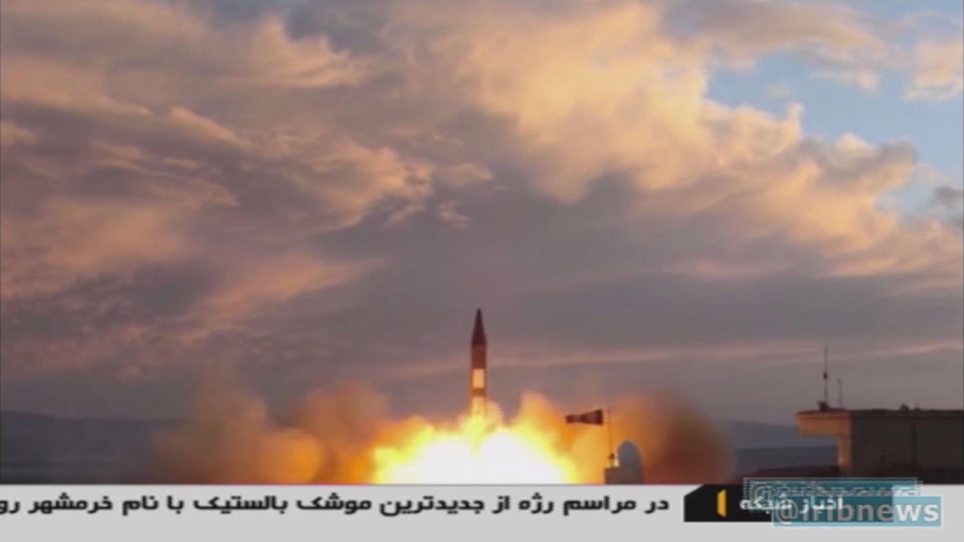 Kamu lehetett az iráni rakétateszt, ami miatt Donald Trump háborgott