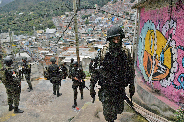 Brazil rendőrök tavaly több mint 1800 embert öltek meg Rio de Janeiróban