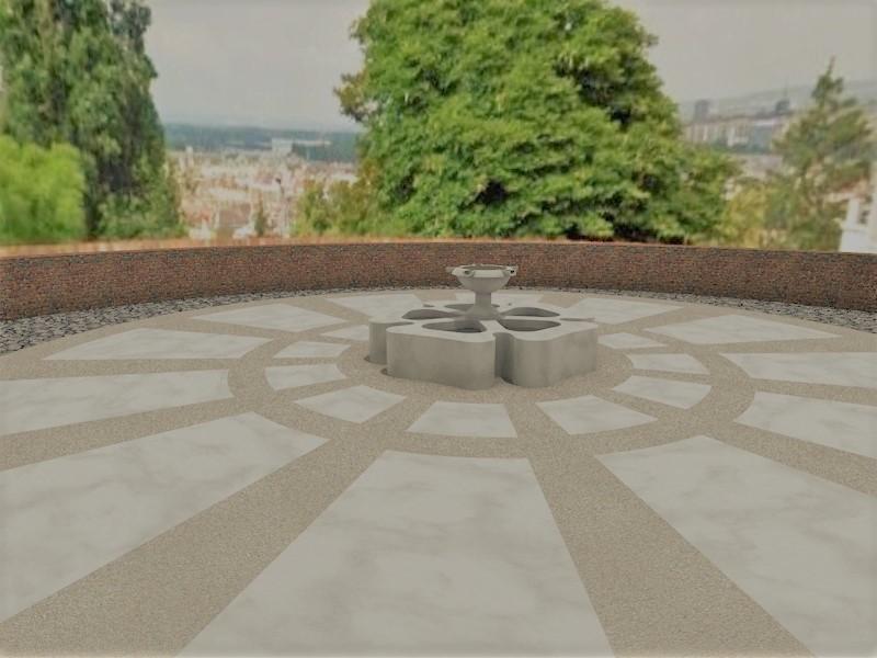 60 millió forintért építenek emlékforrást és emlékparkot a Várban a reformáció tiszteletére