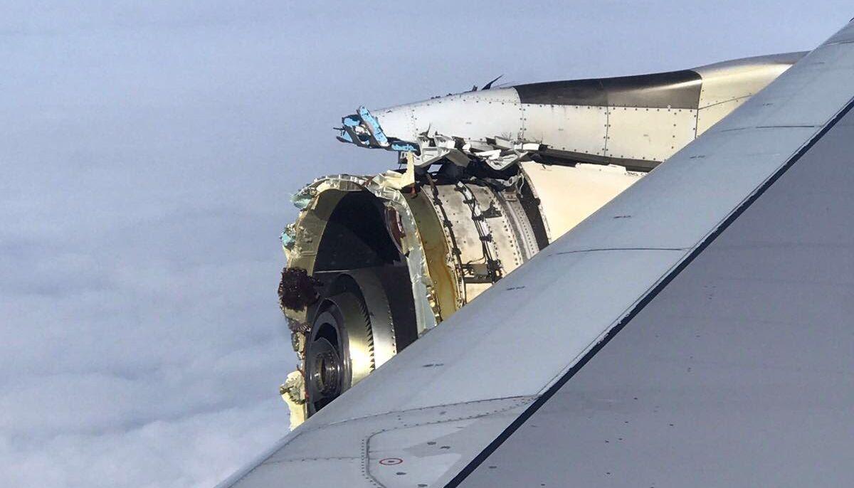 David kinézett a repülő ablakán, és ezt látta