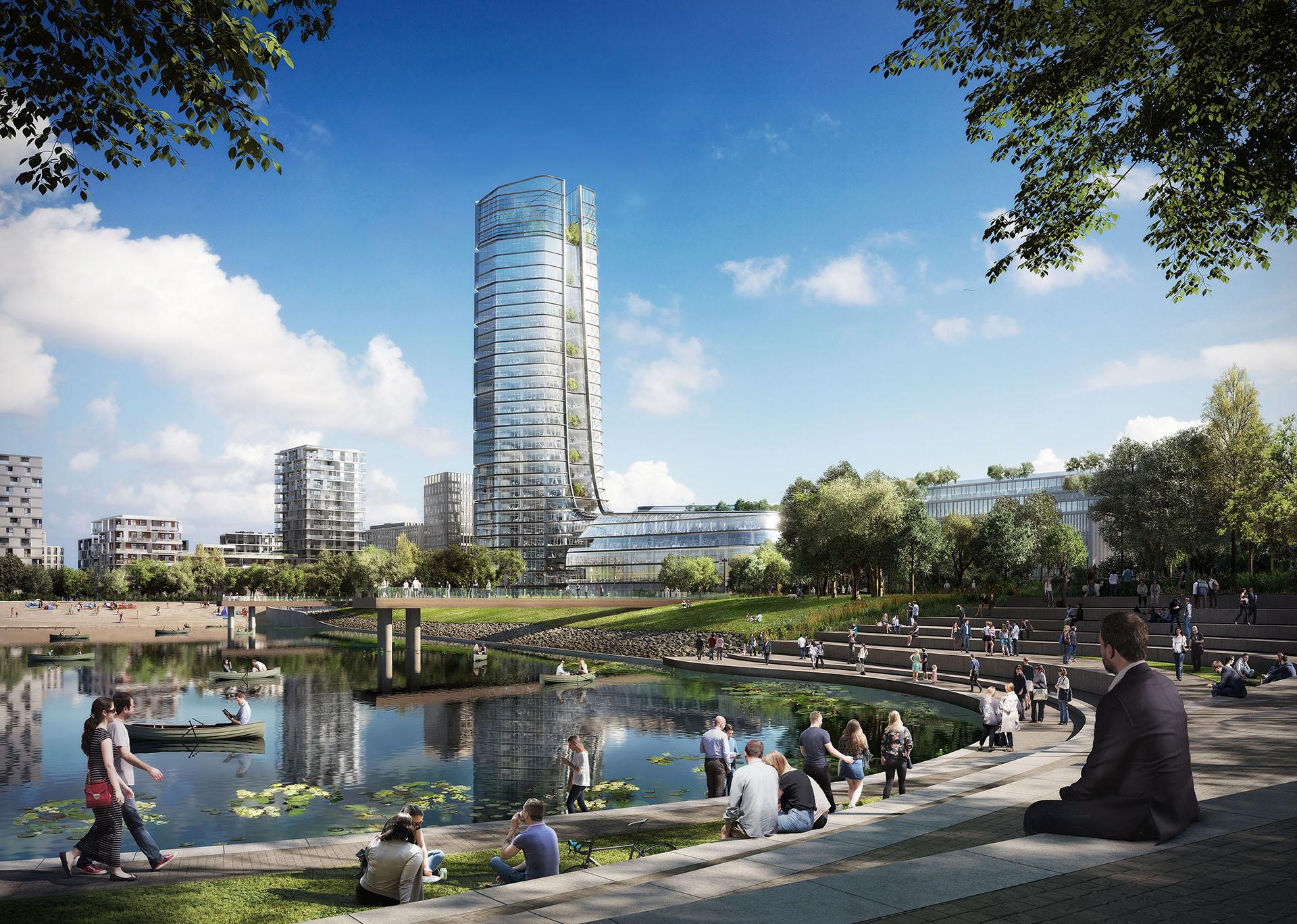 A kormánynak nem tetszik a Kopaszi-gátra tervezett Mol toronyház ötlete