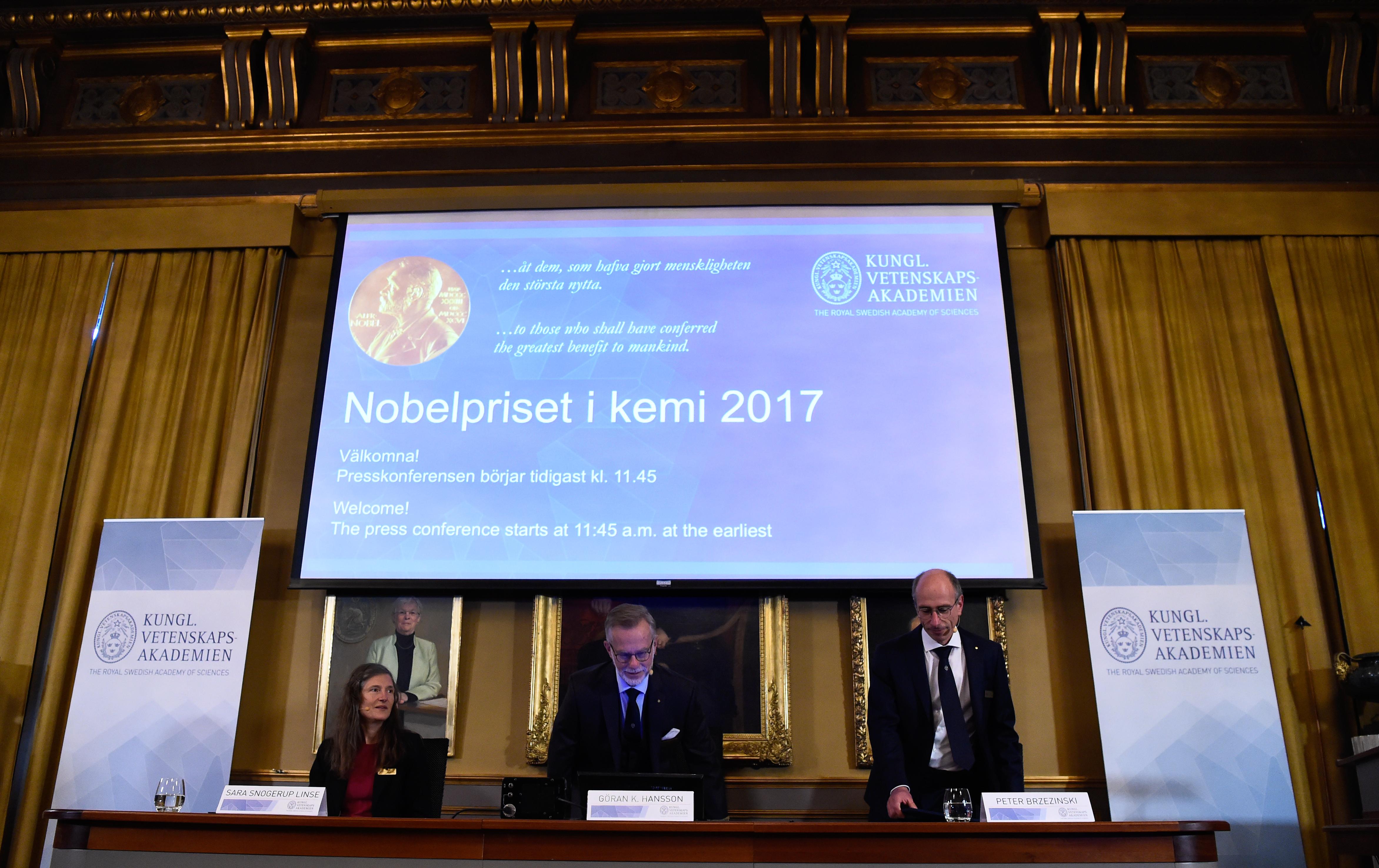Átadták a kémiai Nobel-díjat
