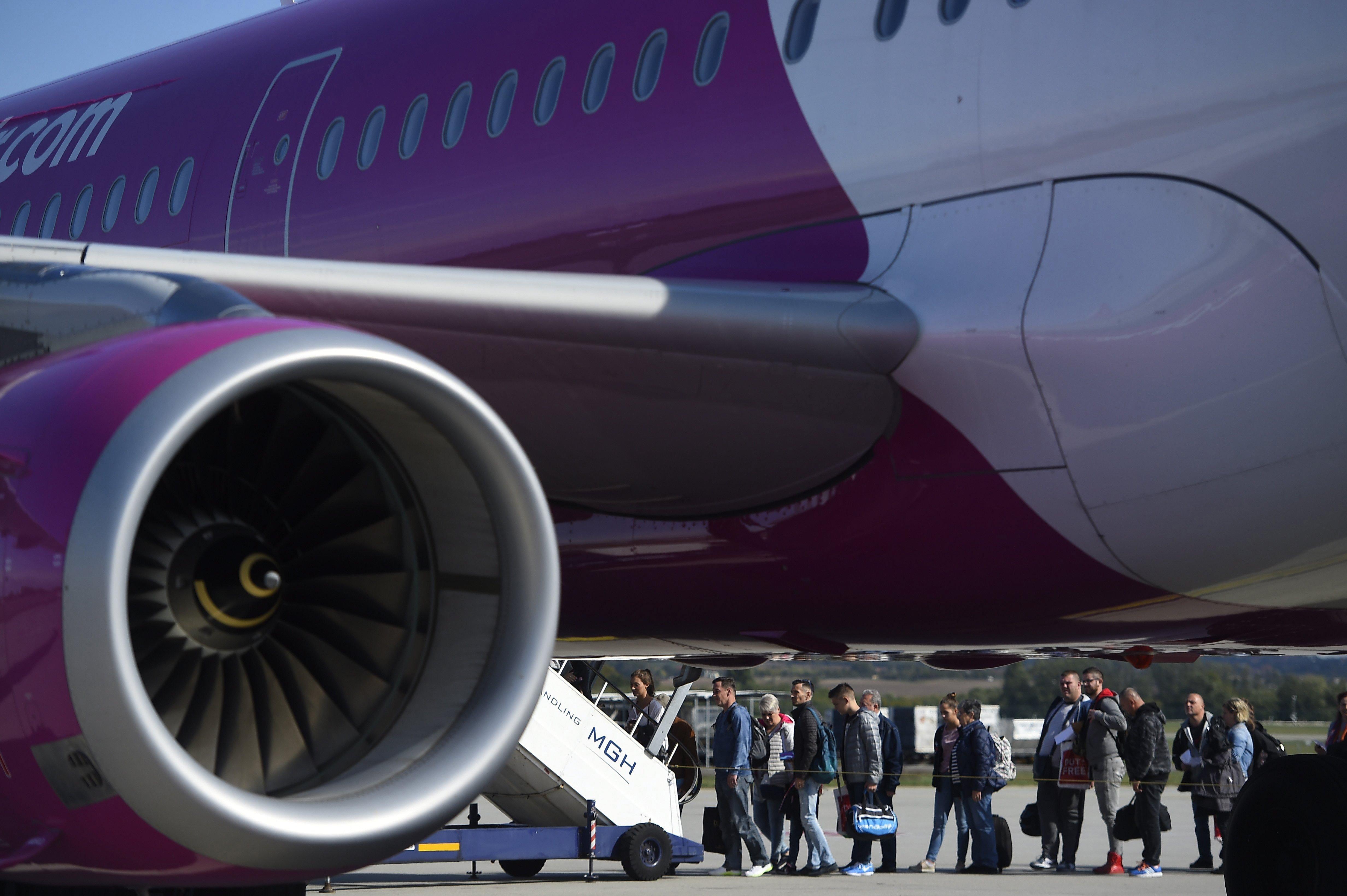 300 millió forintos fogyasztóvédelmi bírságot kapott a Wizz Air