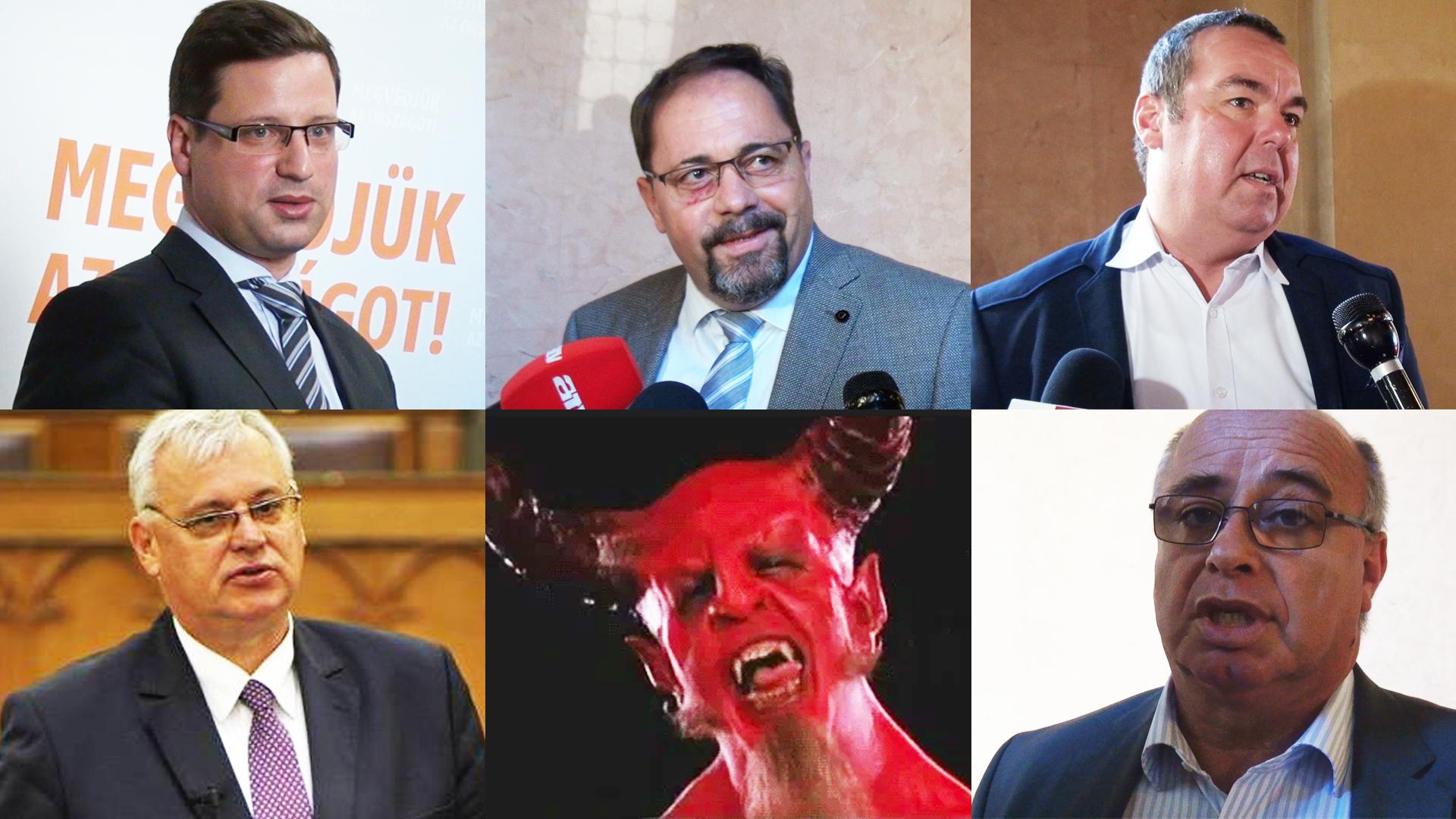Frakcióvezető úr, akkor beszéljünk csak a sátánosról!