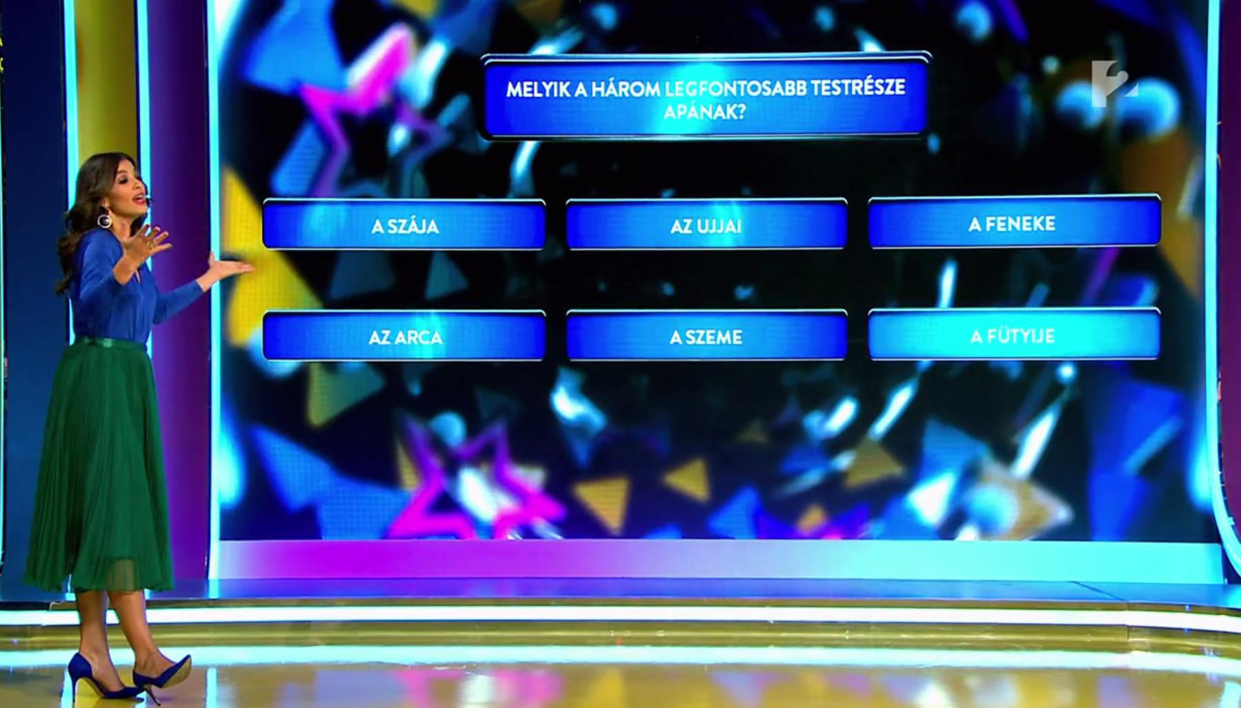 Győrfi Pál kedvenc testrésze a fütyije - mesélte el kislánya a TV2 műsorában