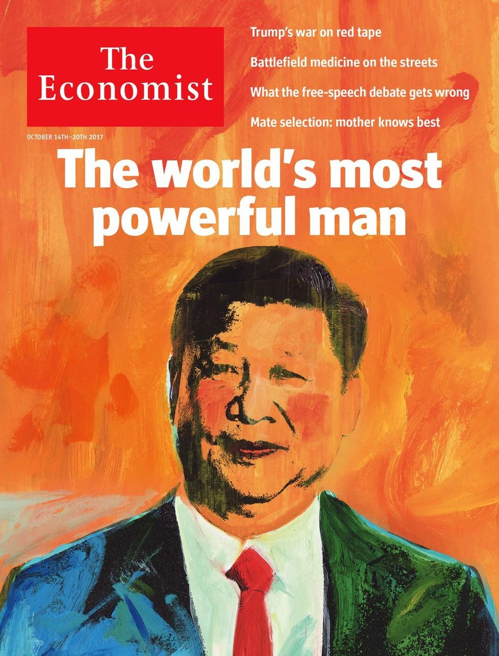 Hszi Csin-ping a világ legnagyobb hatalmú embere az Economist címlapja szerint