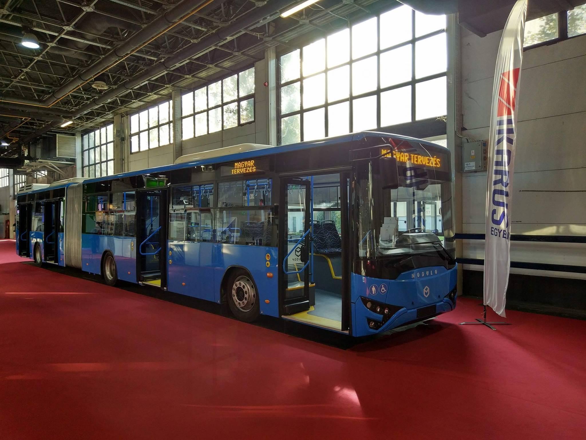 Mégsincs kész a Magyar Buszgyártási Stratégia első csuklós busza