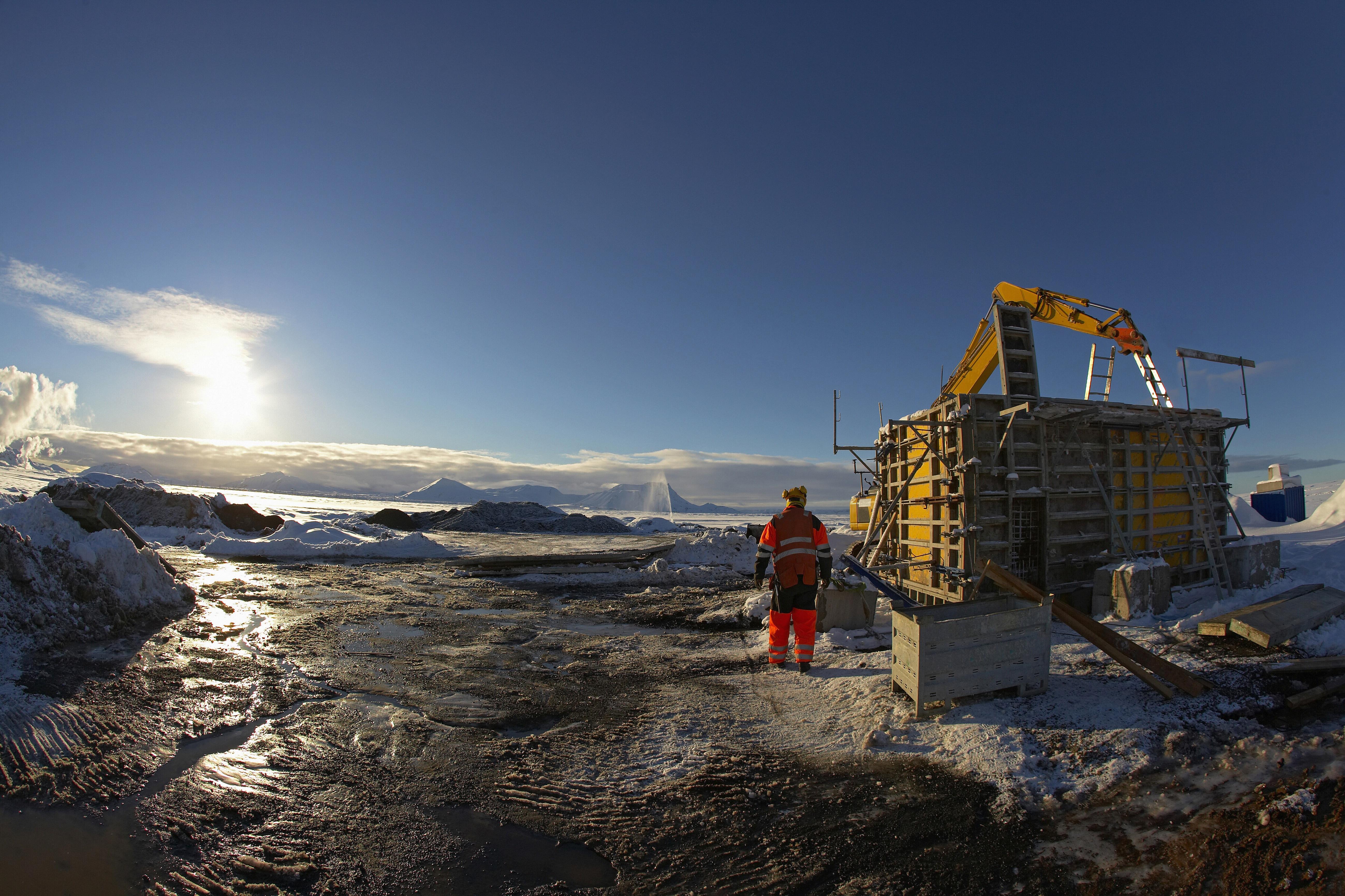 A levegőből szívja ki a széndioxidot egy új izlandi erőmű