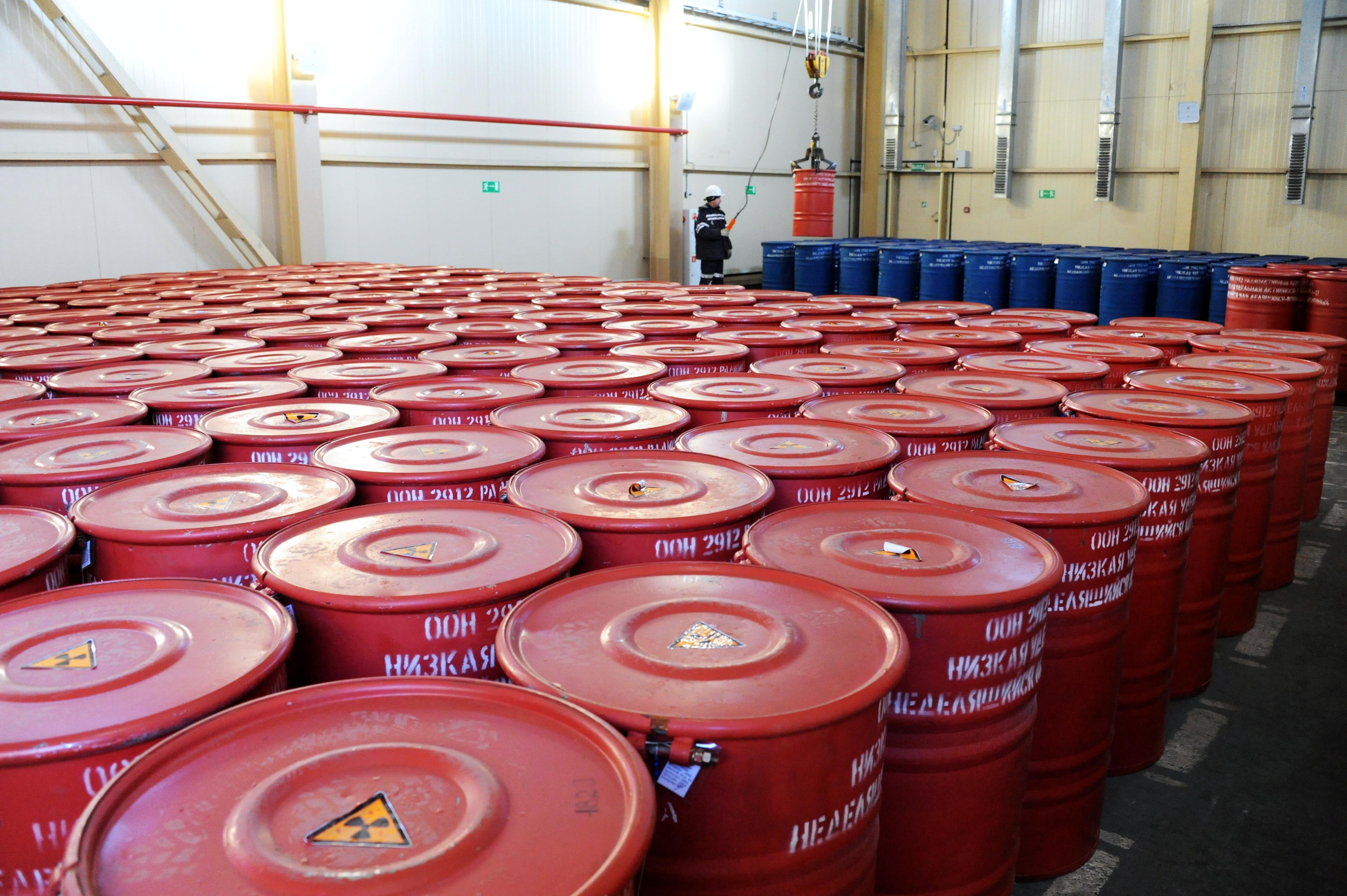Rendellenes esemény történt Pakson a radioaktív hulladékokat kezelő tárolóban