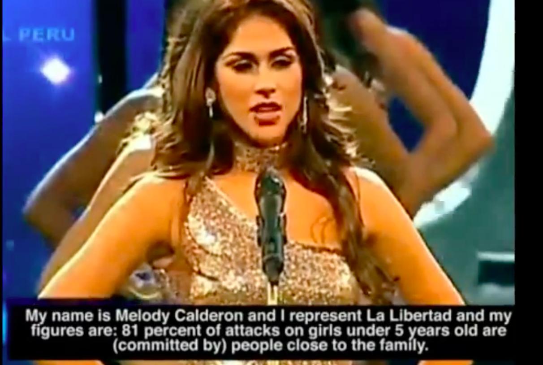 A perui szépségkirálynő-jelöltek mellbőségük és derékméretük helyett inkább egészen más számokról beszéltek