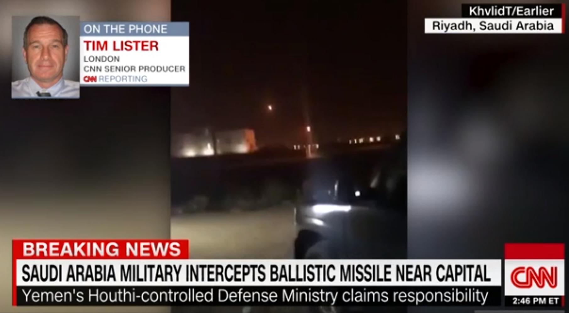 Szaúd-Arábia fővárosának repülőterére lőttek ki rakétát
