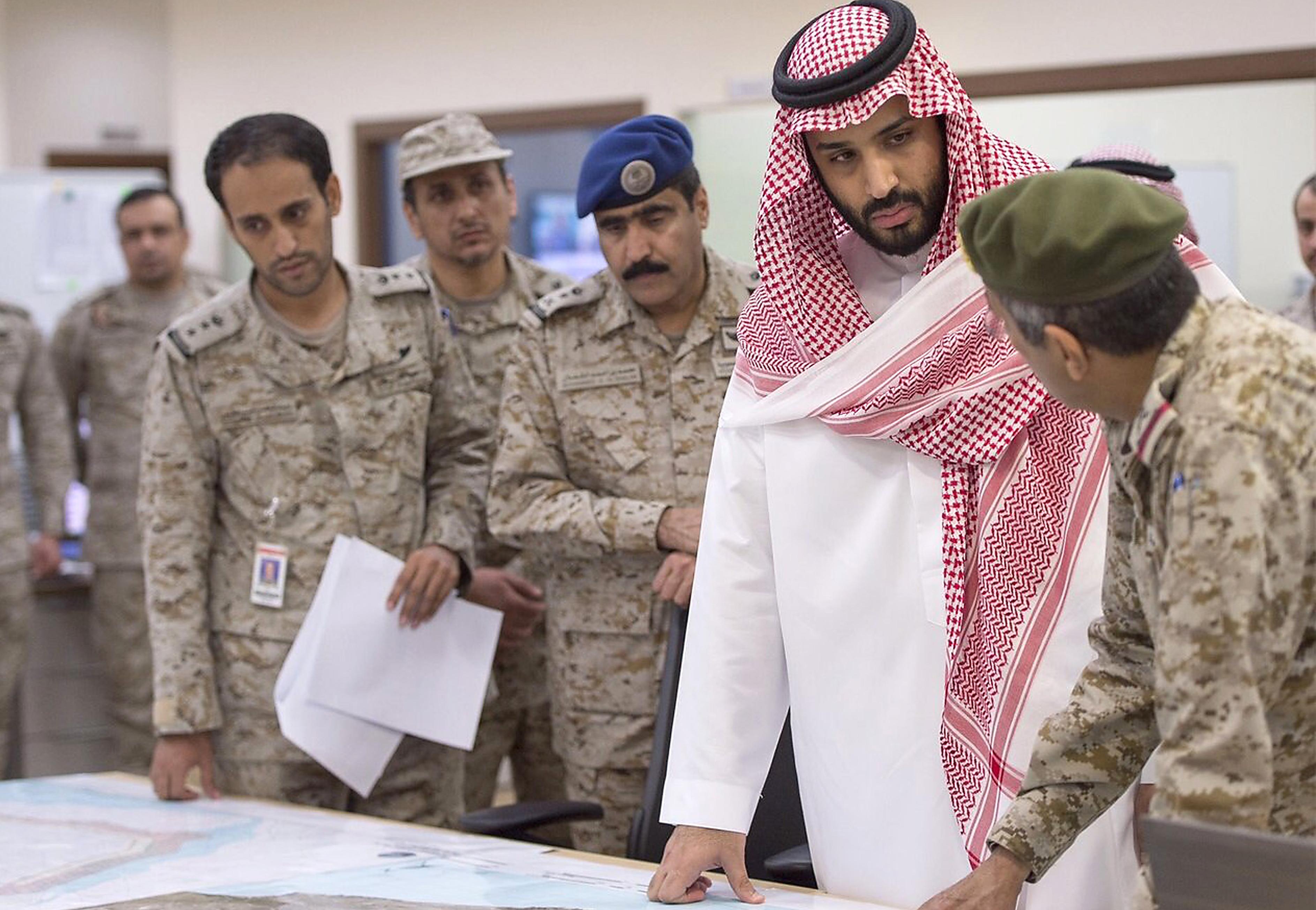 A szaúdi koronaherceg közvetlen katonai agresszióval vádolja Iránt