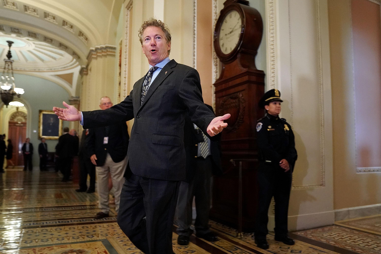 Nagyon úgy tűnik, hogy valójában a lehullott falevelek miatt támadtak rá egy republikánus szenátorra