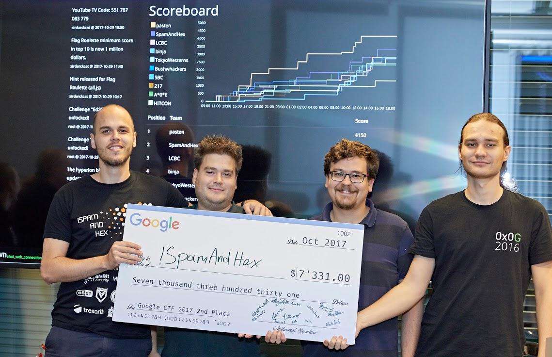 Második lett egy magyar csapat a Google hekkerversenyén