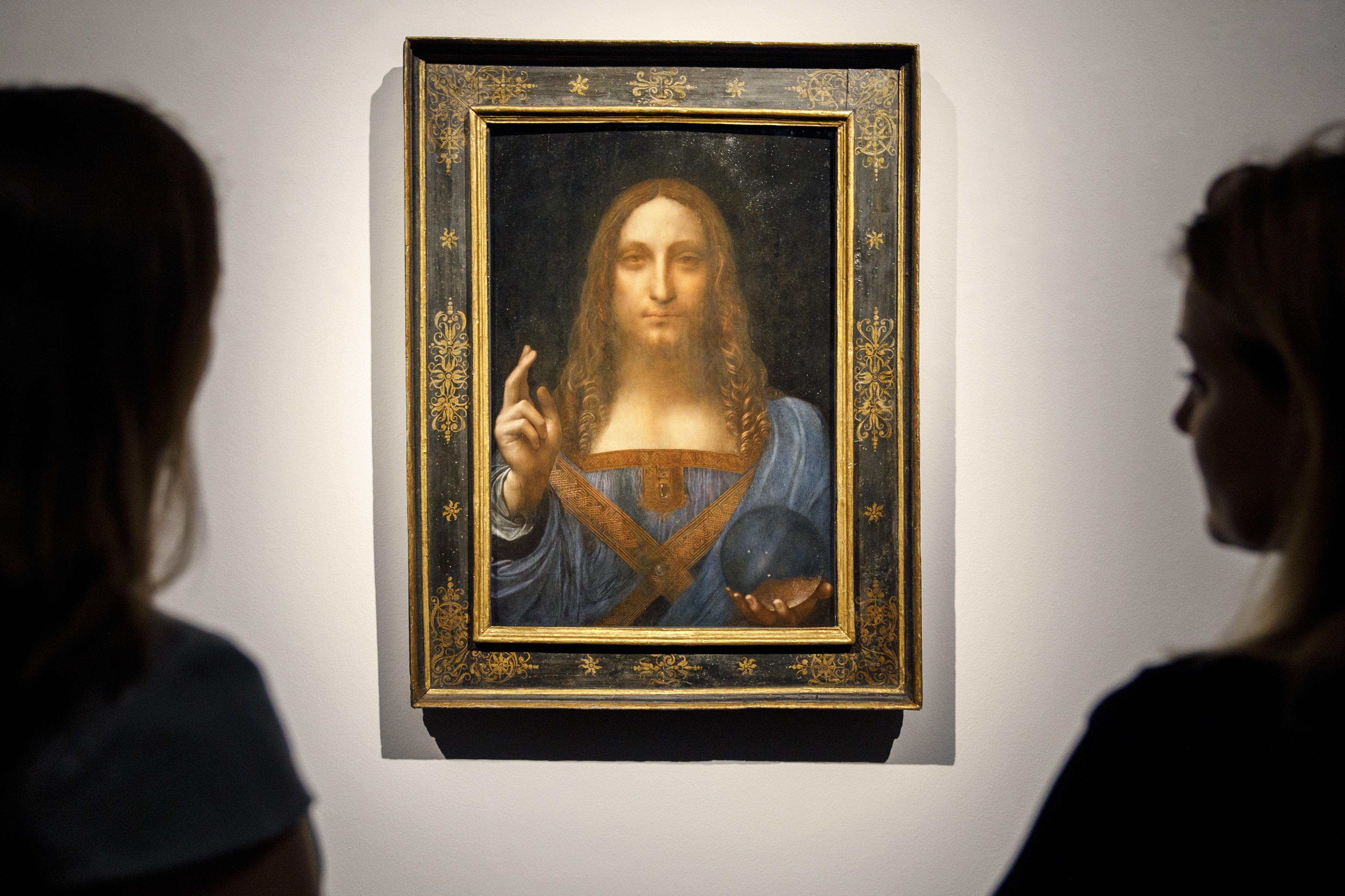 118,5 milliárdért kelt el Leonardo Jézus-festménye