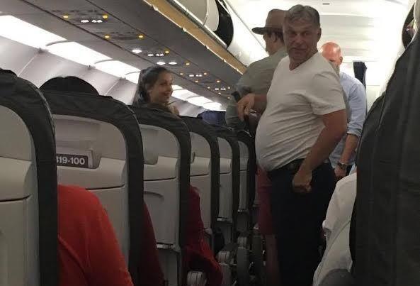 Két olyan magángép is Londonba ment, ami már szállította Orbánt