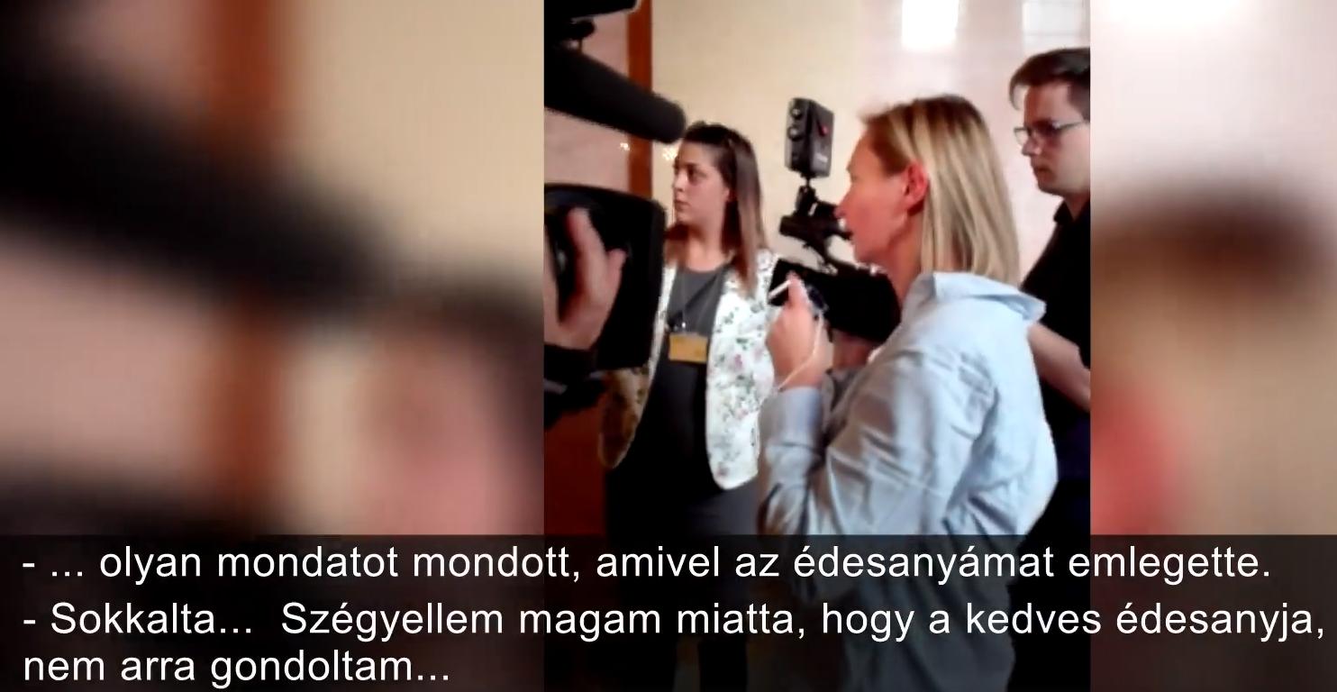 Rugdalózó László Petra újra lecsapott