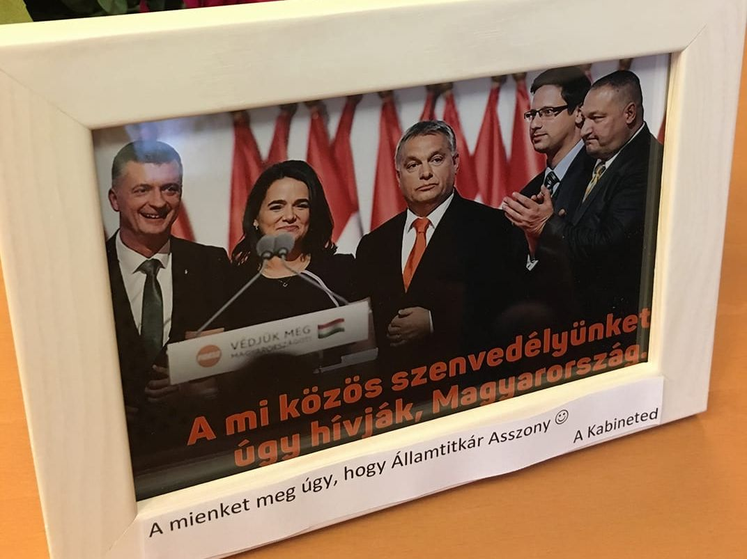 A mi szenvedélyünk az Államtitkár Asszony!