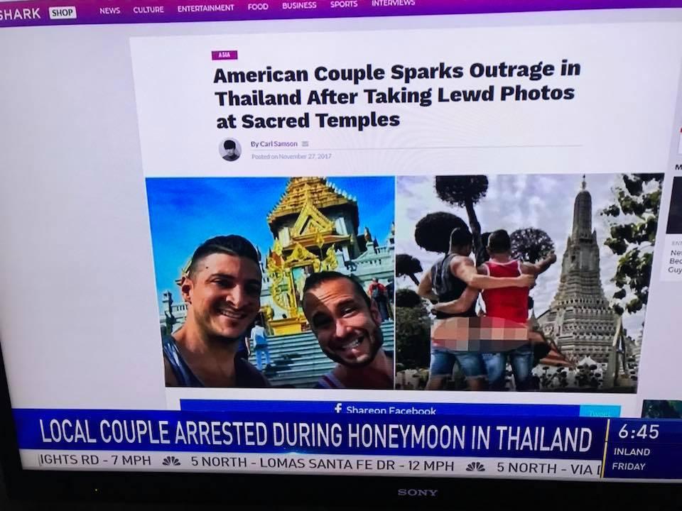 Bangkokban vesztettek rajta az Utazó Seggek, a hatóságok nem díjazták, hogy meztelen fenékkel pózolnak egy buddhista szent hely előtt