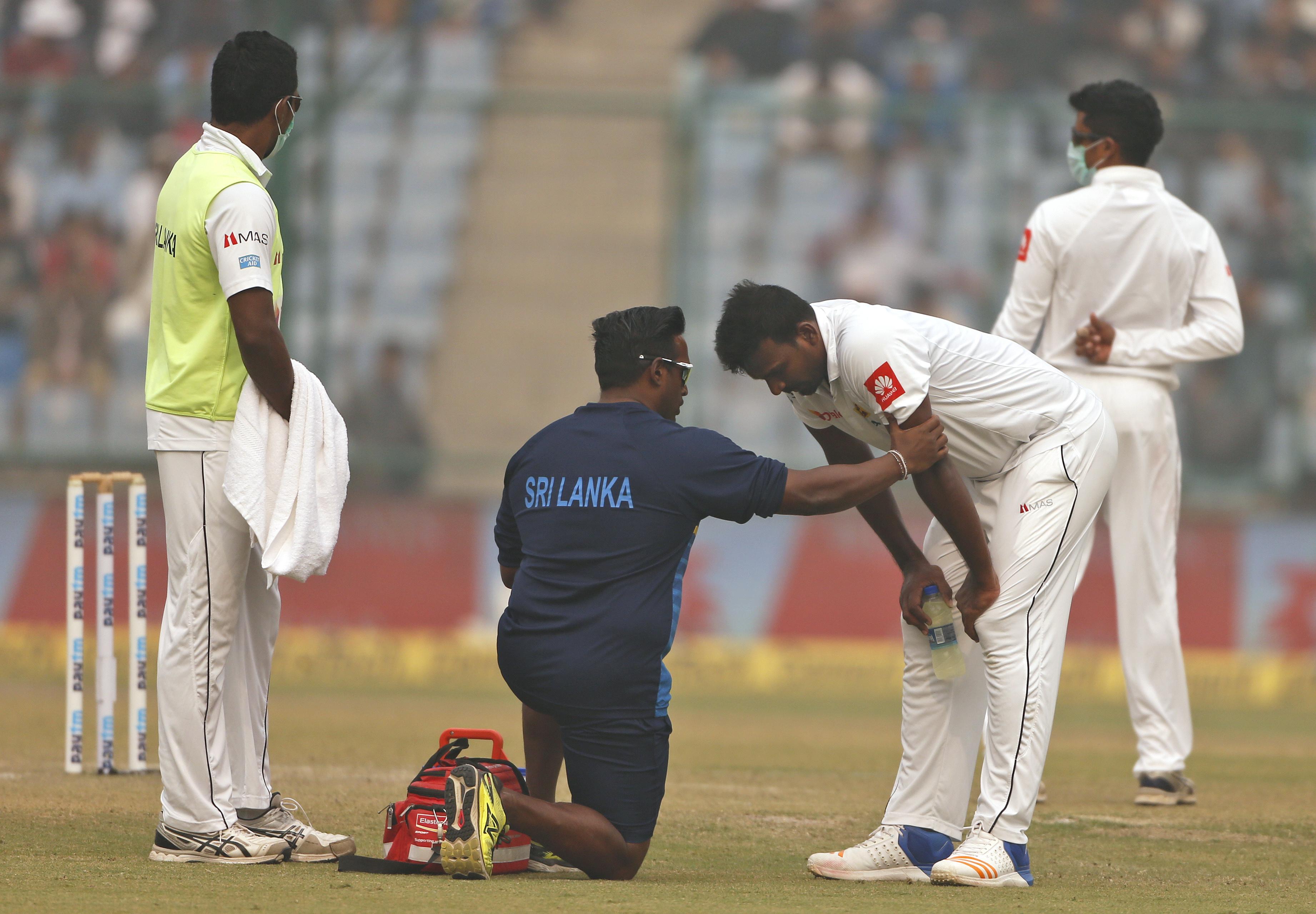 Meccs közben kezdtek hányni a krikettjátékosok a szennyezett levegőtől Delhiben