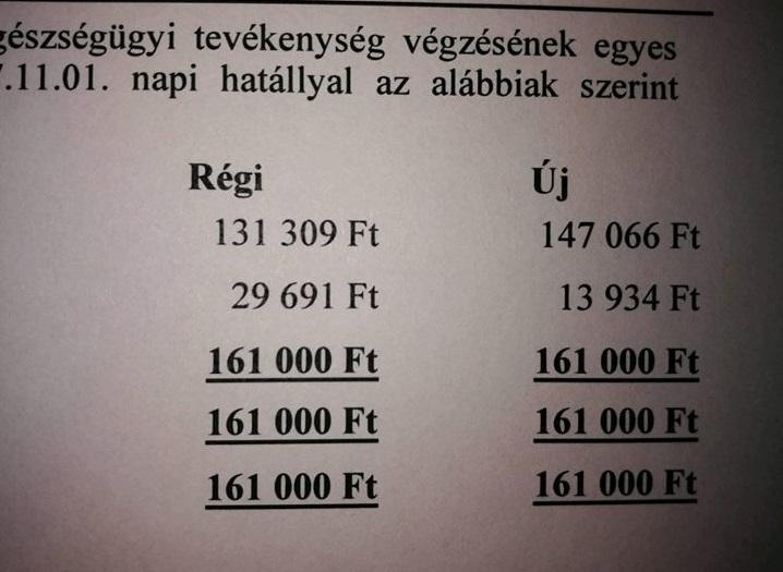 Úgy kapott papíron 12 százalékos béremelést a magyar egészségügyi dolgozók jó része, hogy nem vihetnek haza több pénzt
