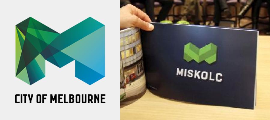 Miskolc lett BAZ megye Melbourne-je, annyira hasonlítanak egymásra a két város logói
