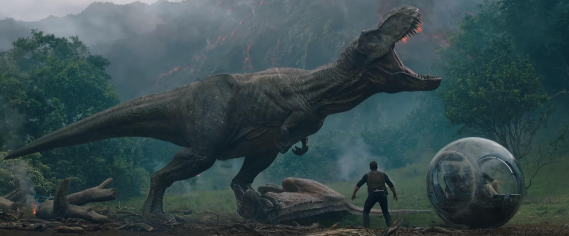 Itt az első előzetes a Jurassic World folytatásához