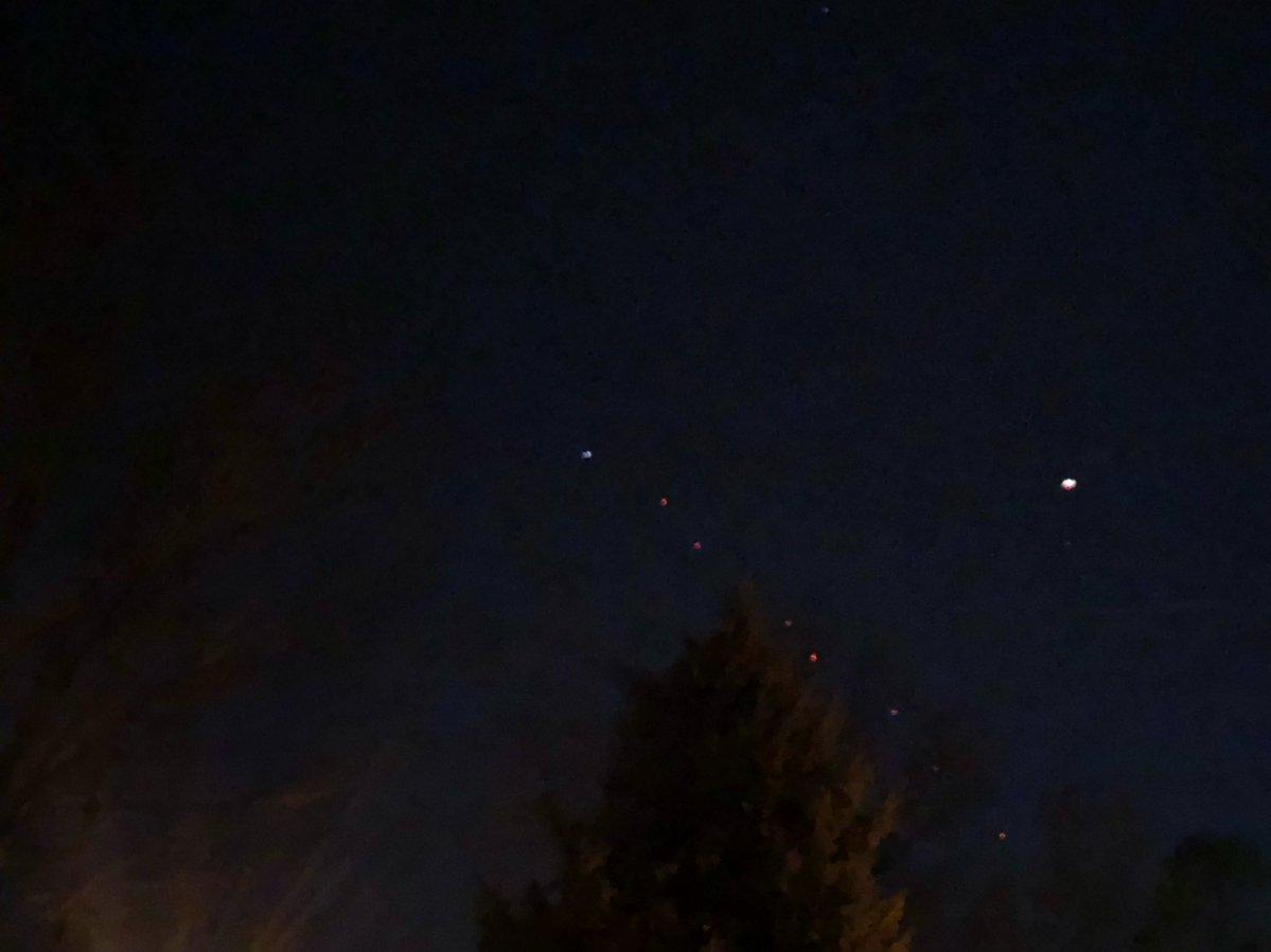 Furcsa fények villogtak szombat este Denver fölött