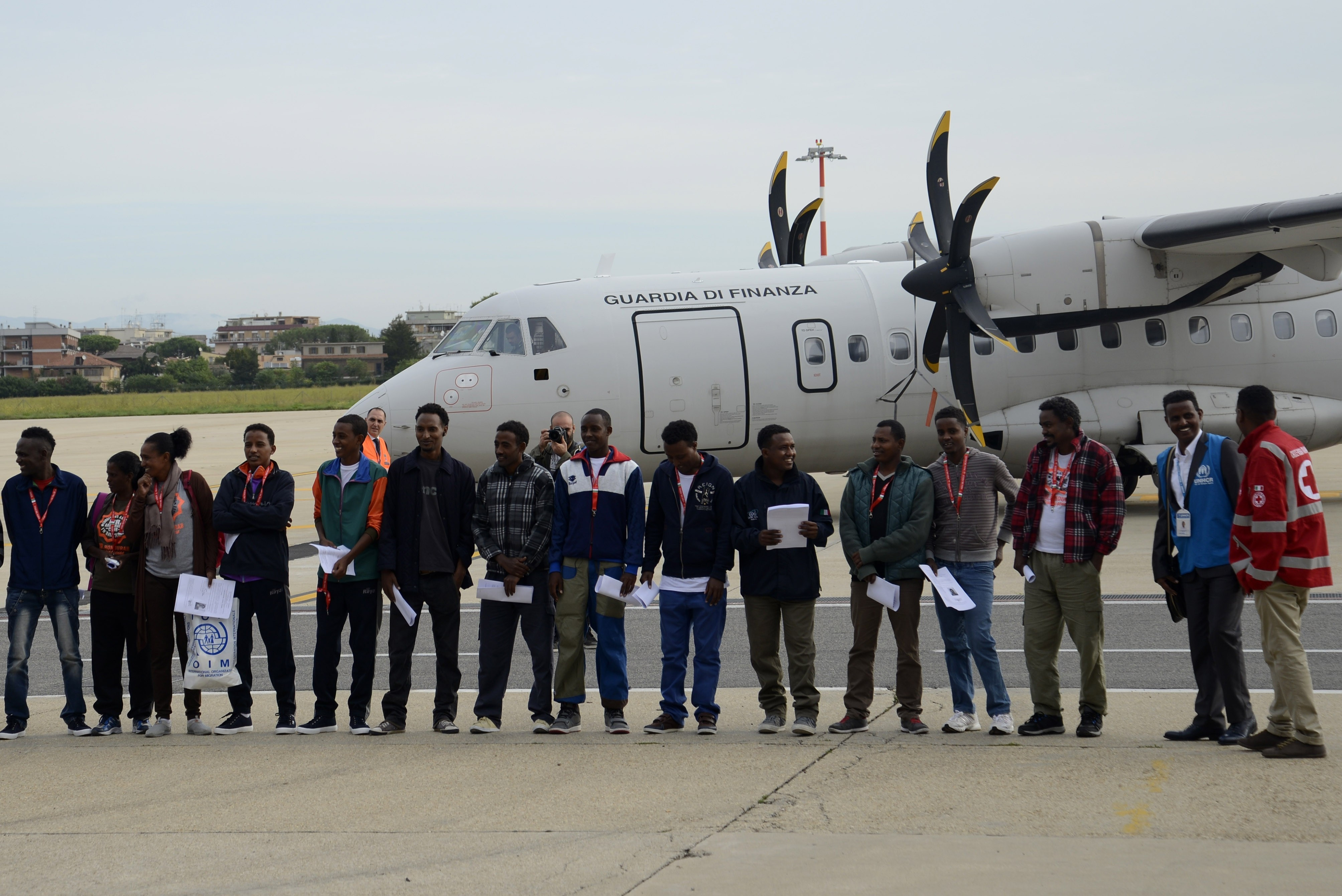 Észtország befogadott négy (4) eritreai nőt Olaszországból