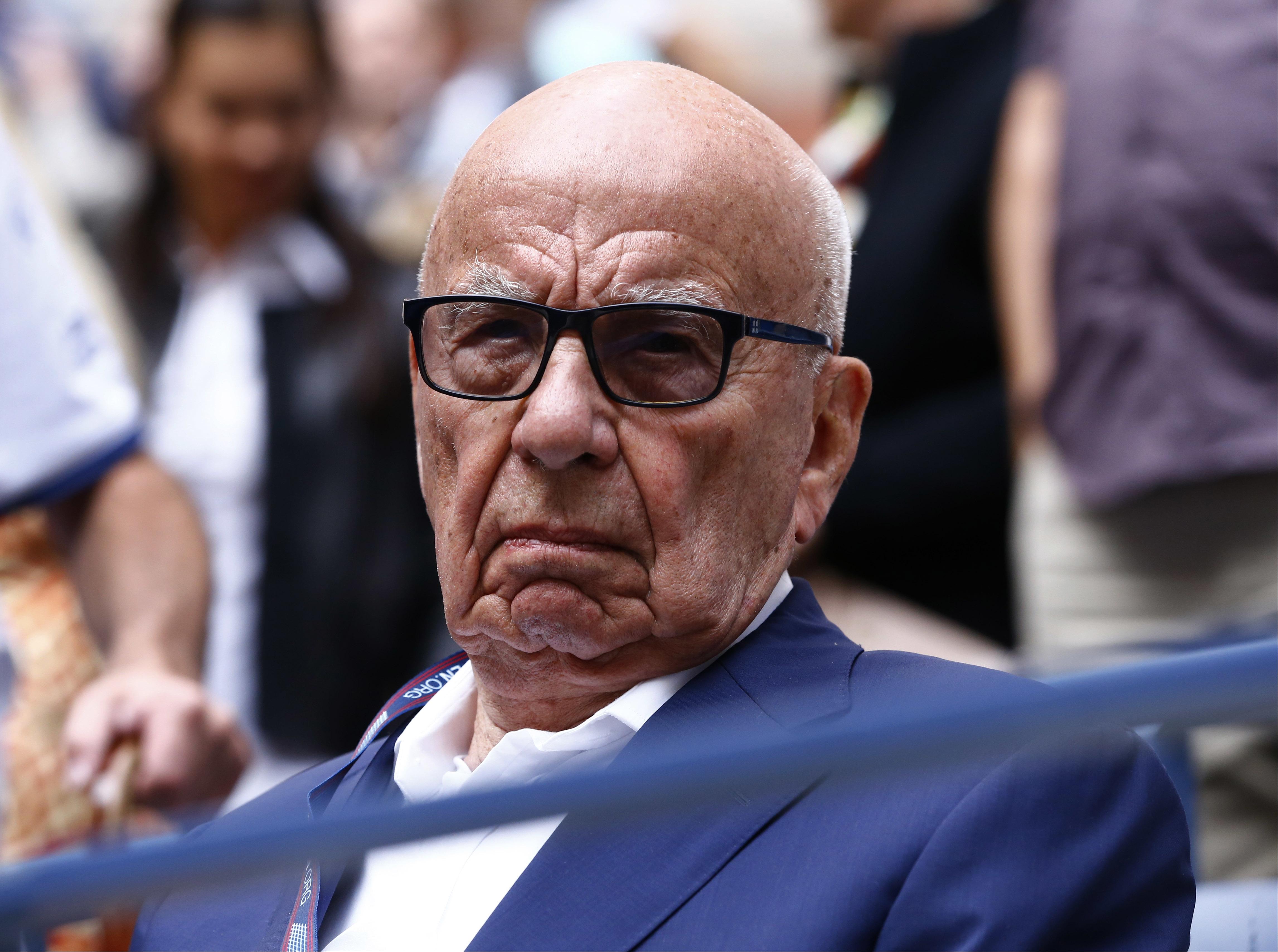 Vitorlázás közben megsérült Rupert Murdoch